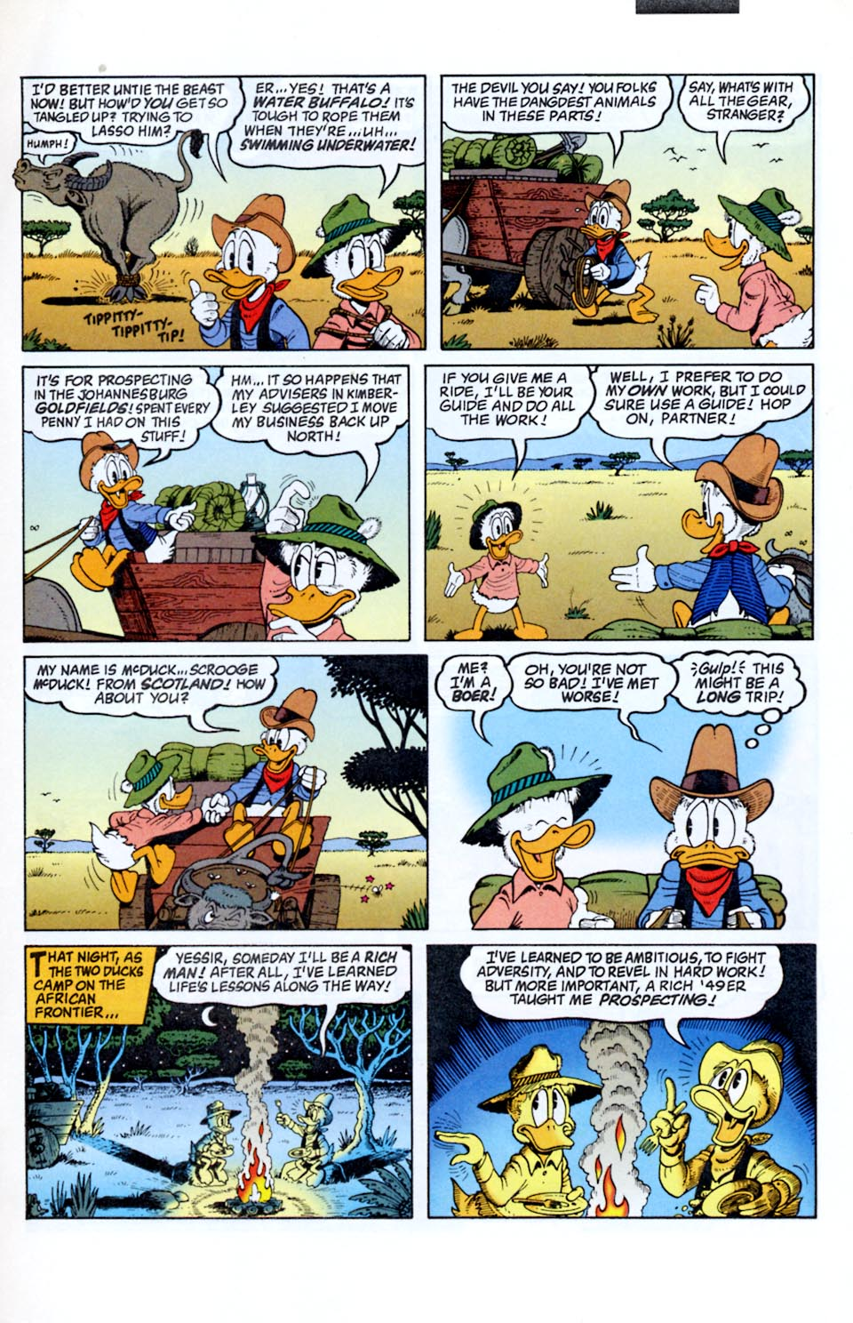 Read online Uncle Scrooge (1953) comic -  Issue #290 - 4