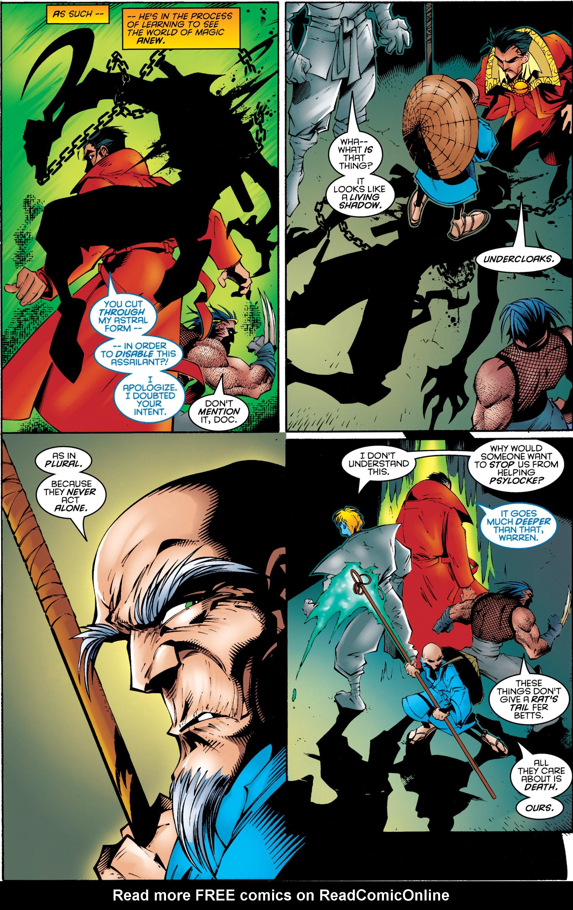 Read online Uncanny X-Men (1963) comic -  Issue #330 - 5
