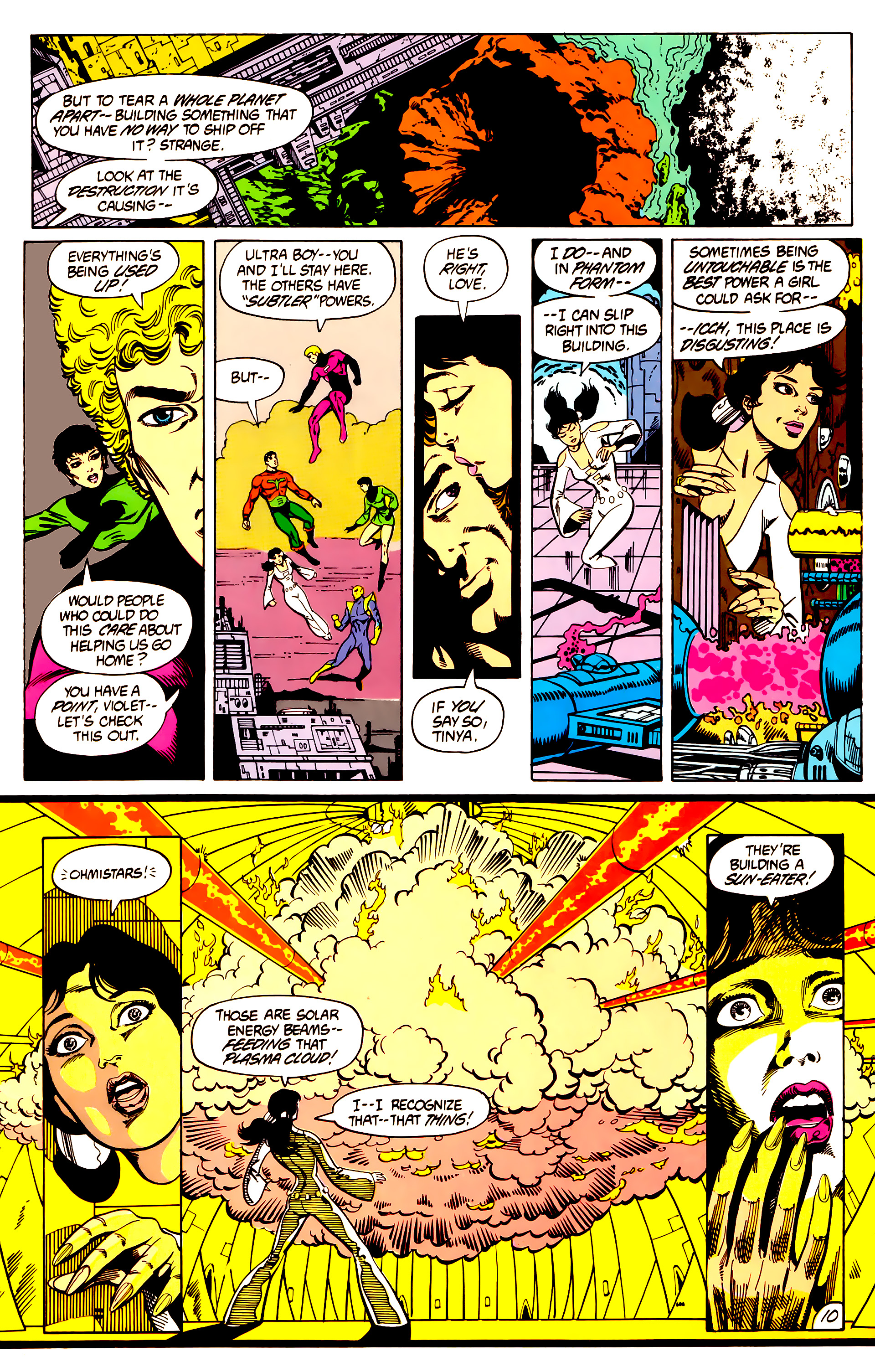 Legion of Super-Heroes (1984) 7 Page 11