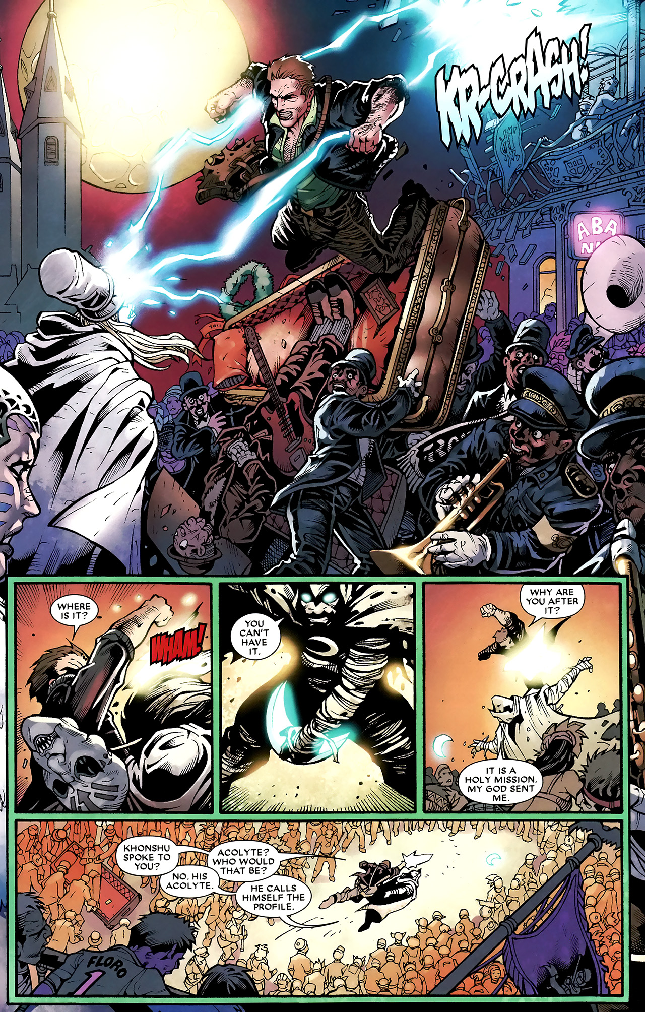 Read online Shadowland: Moon Knight comic -  Issue #3 - 15