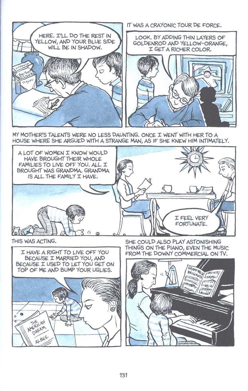 Read online Fun Home: A Family Tragicomic comic -  Issue # TPB - 137