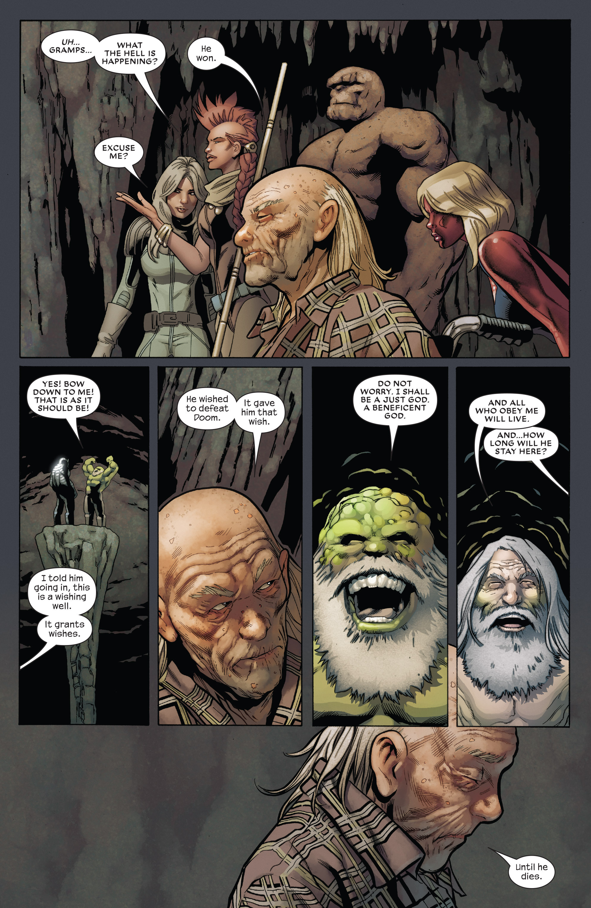 Read online Future Imperfect comic -  Issue #5 - 22