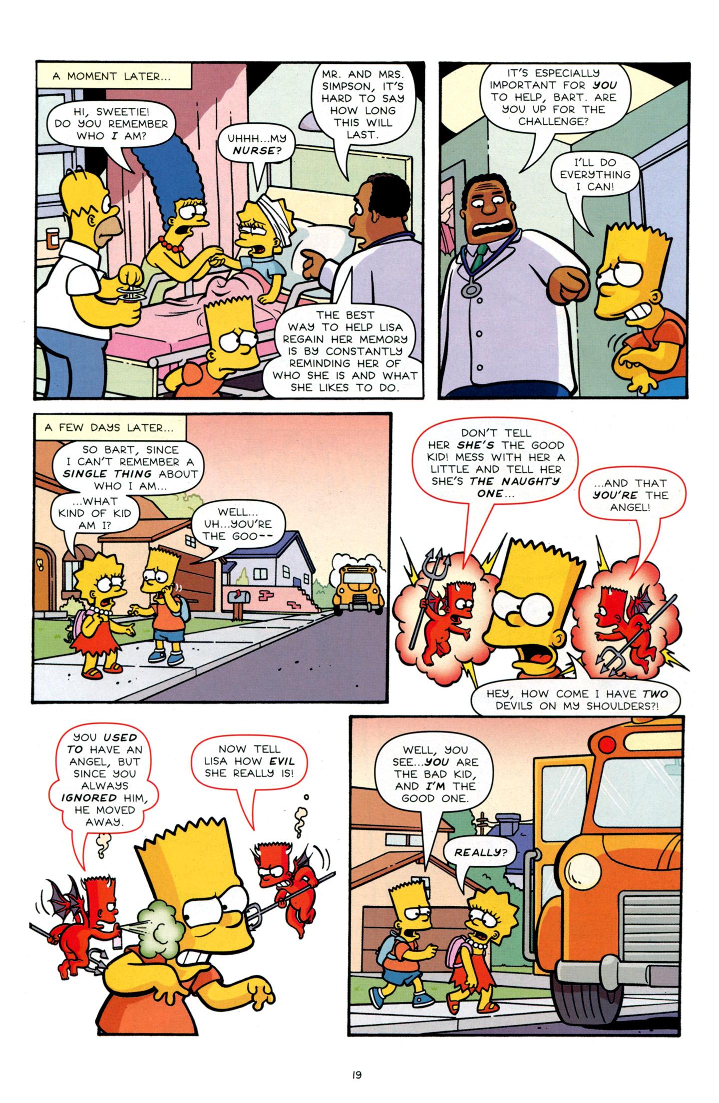 Read online Simpsons Comics Presents Bart Simpson comic -  Issue #66 - 21