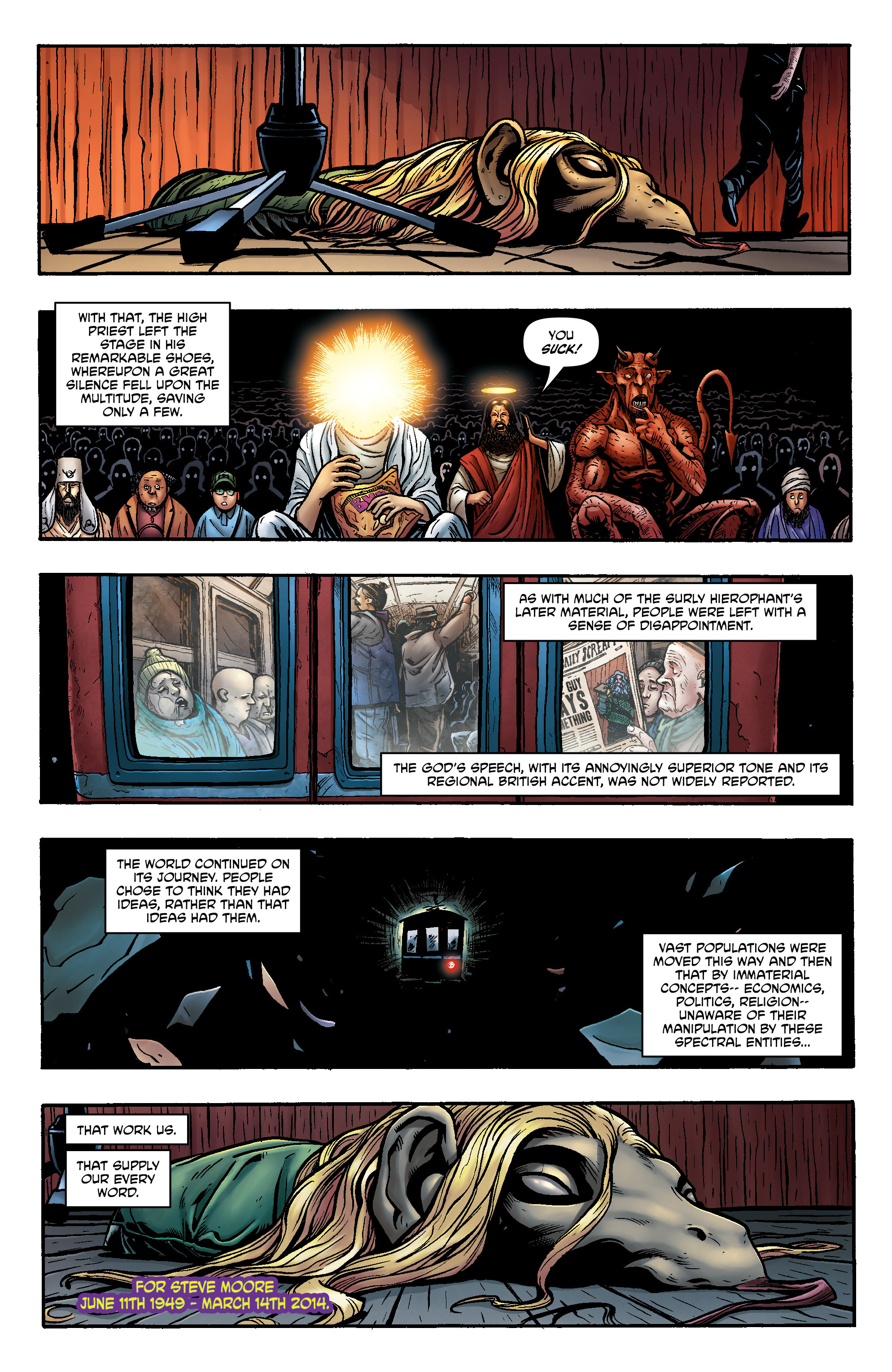 Read online God is Dead: Book of Acts comic -  Issue # Alpha - 36