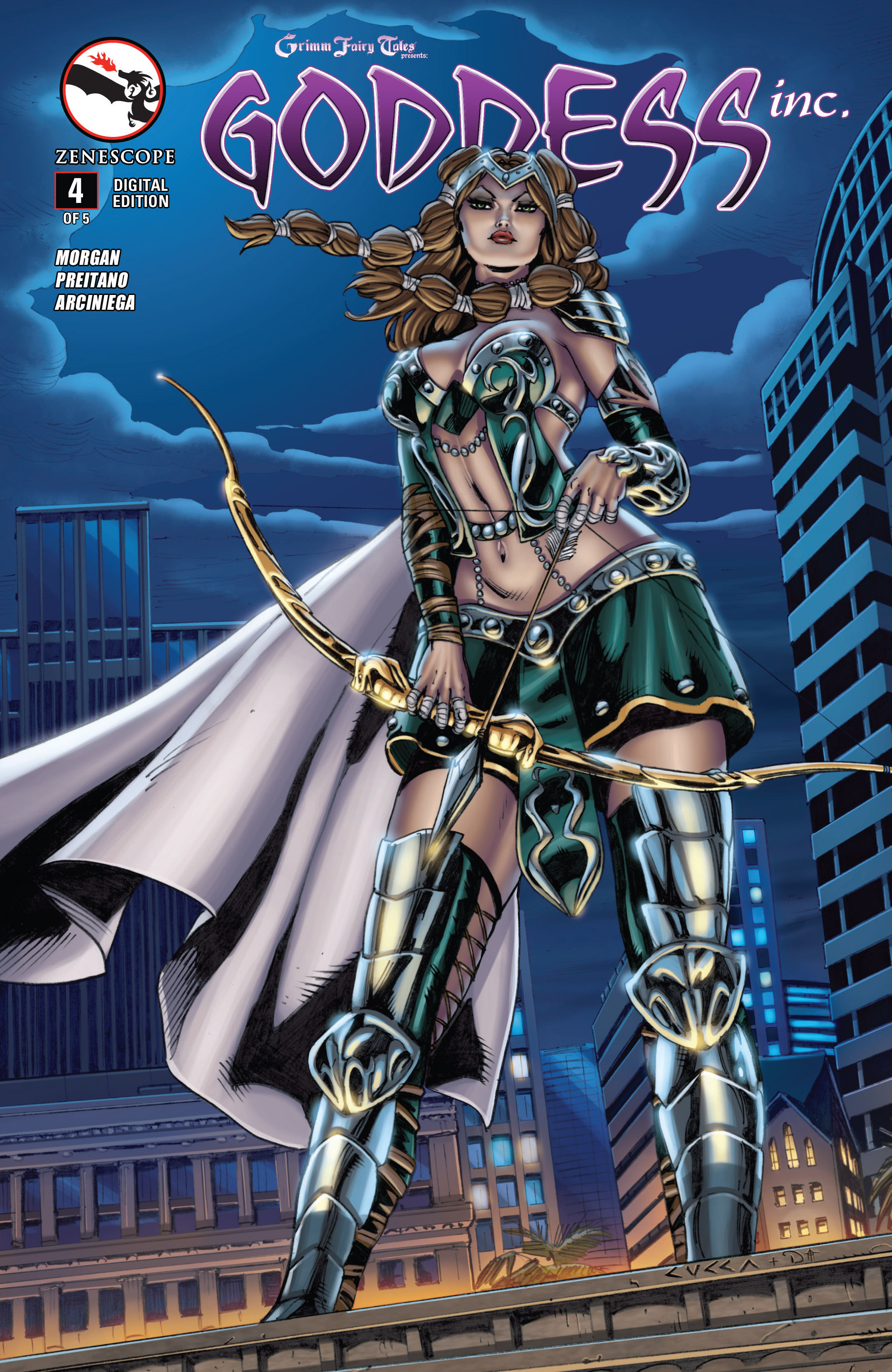 Read online Grimm Fairy Tales presents Goddess Inc. comic -  Issue #4 - 1