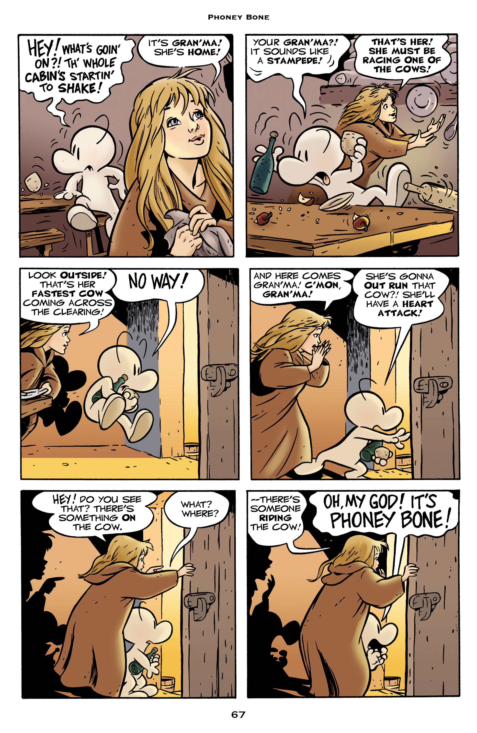 Read online Bone: Out From Boneville comic -  Issue # TPB - 67