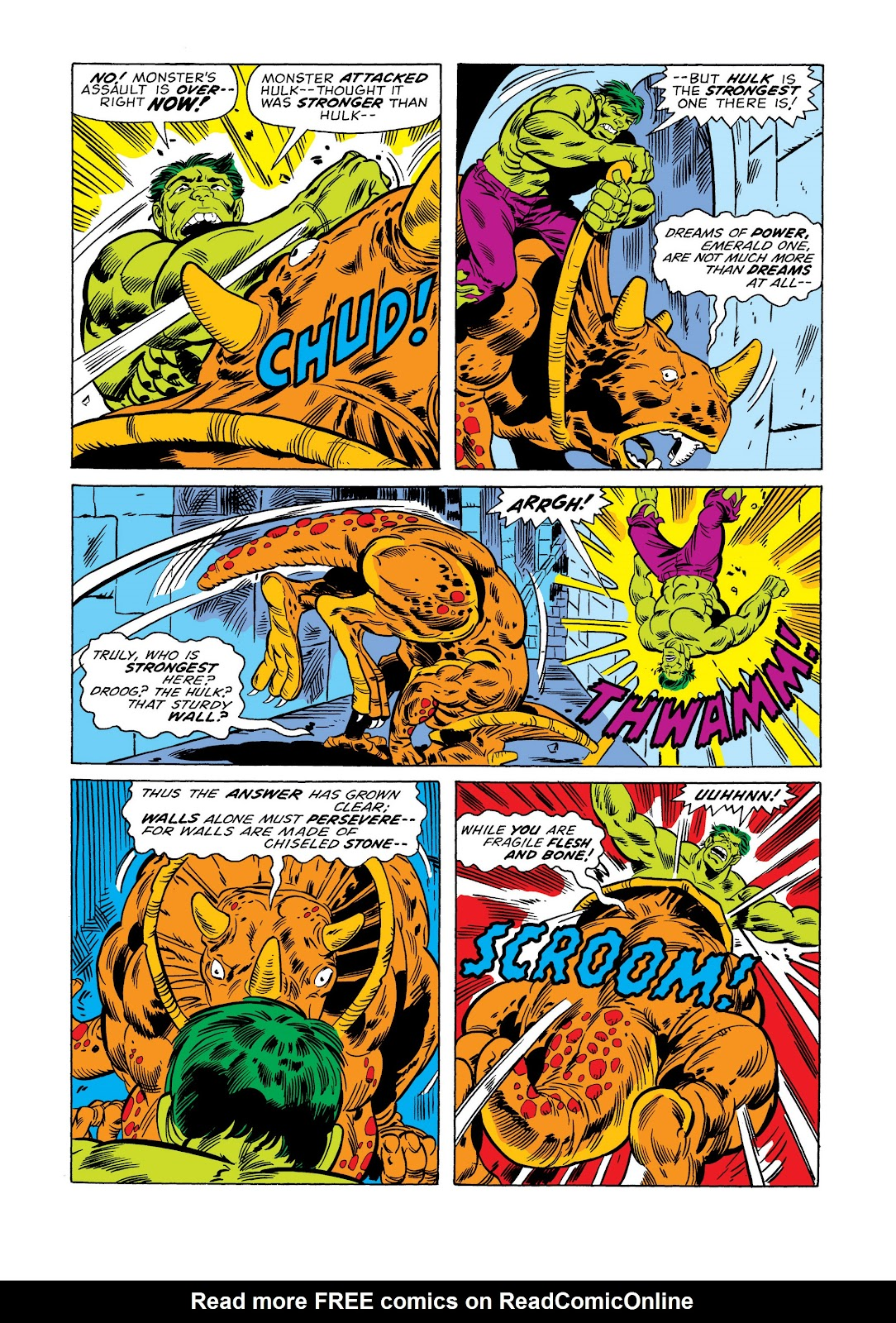 Read online Marvel Masterworks: The Incredible Hulk comic -  Issue # TPB 11 (Part 1) - 96