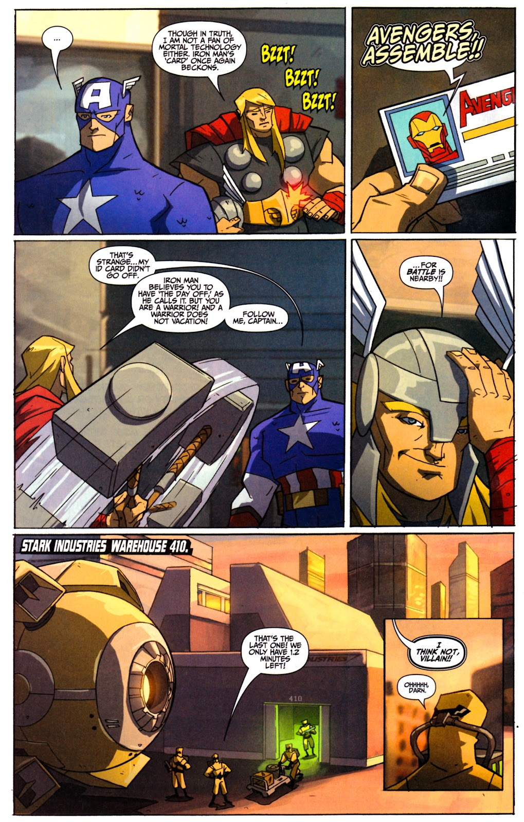 Avengers: Earth's Mightiest Heroes (2011) Issue #1 #1 - English 9