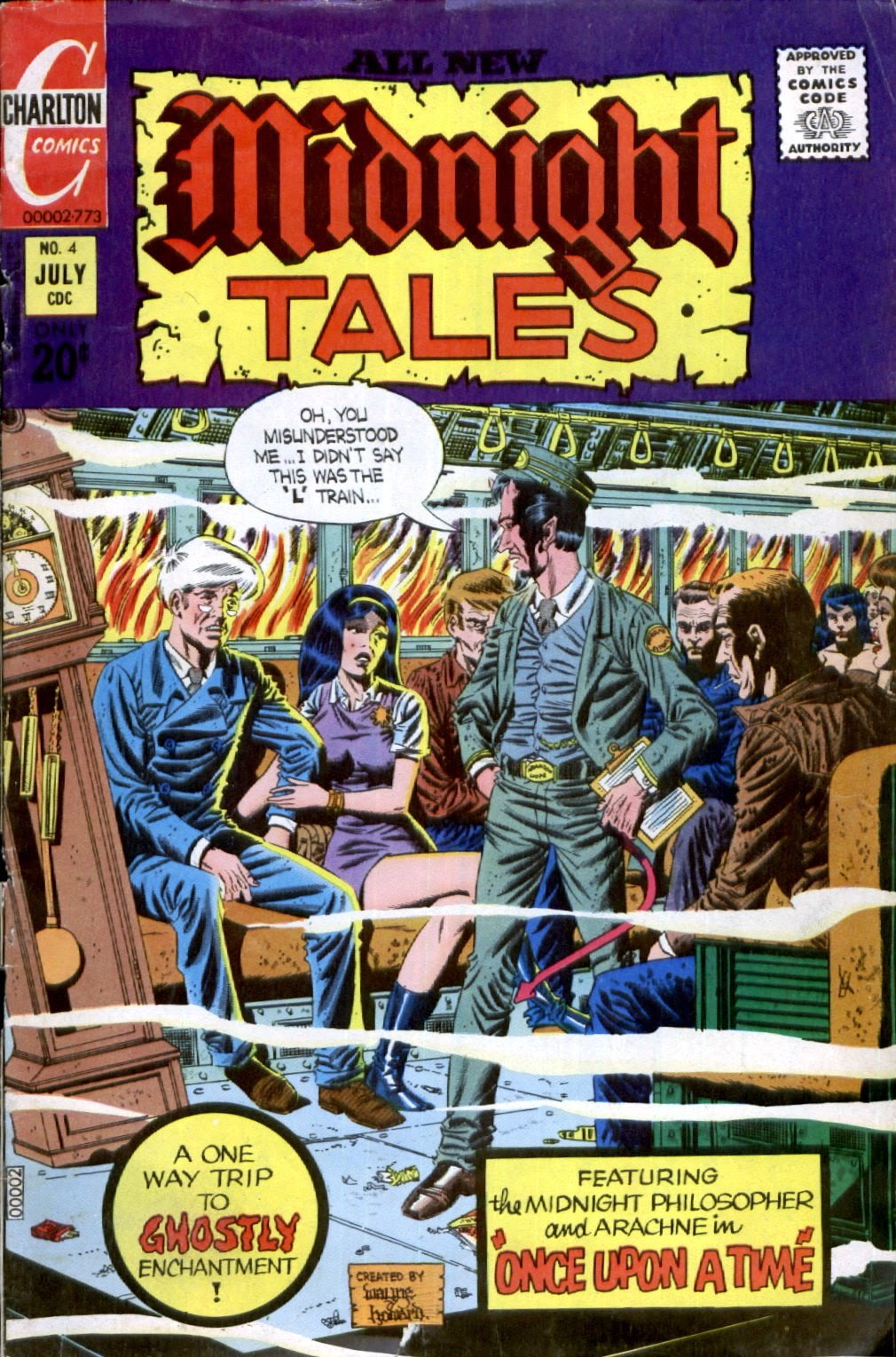 Midnight Tales issue 4 - Page 1