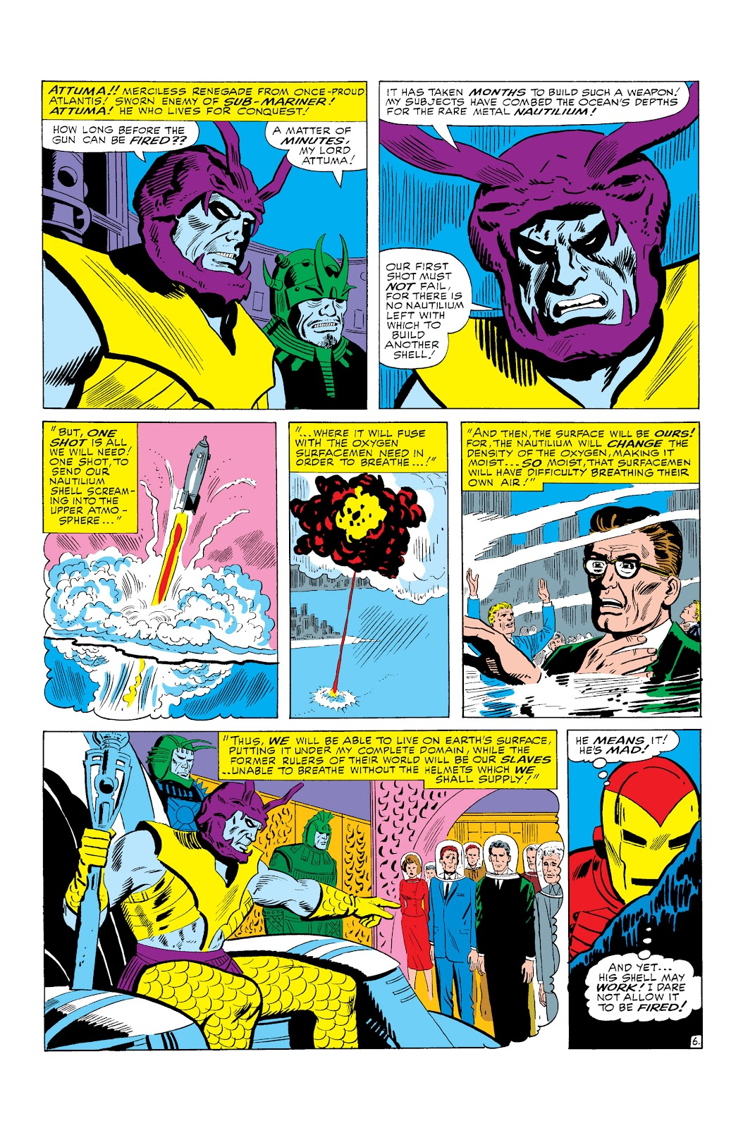 Read online Marvel Masterworks: The Invincible Iron Man comic -  Issue # TPB 3 (Part 1) - 9
