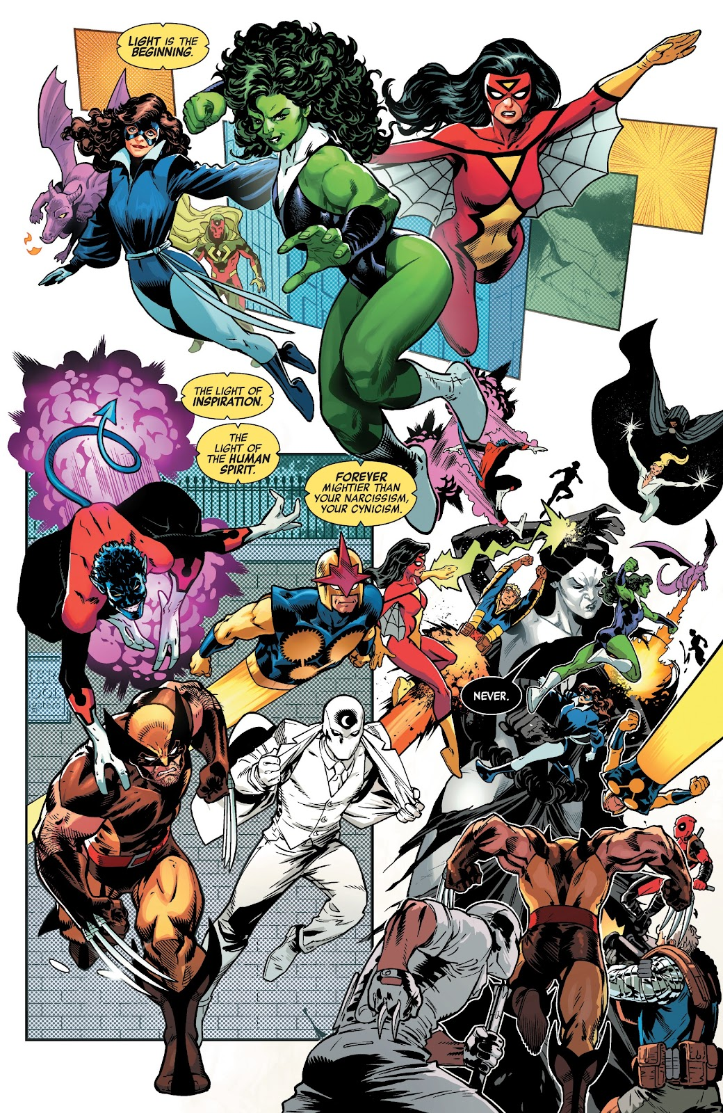 Read online Avengers No Road Home comic -  Issue #10 - 12