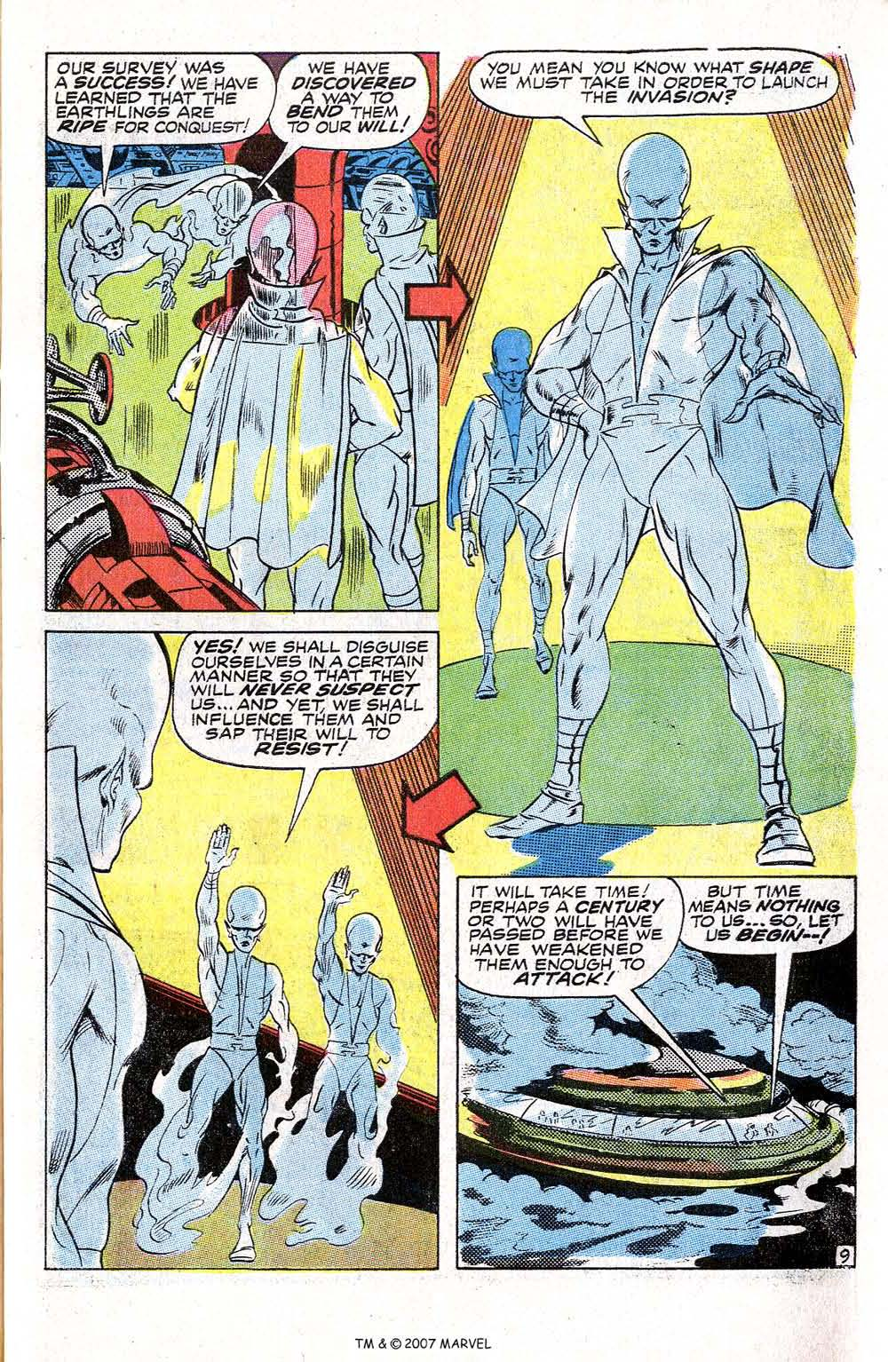Read online Silver Surfer (1968) comic -  Issue #6 - 61