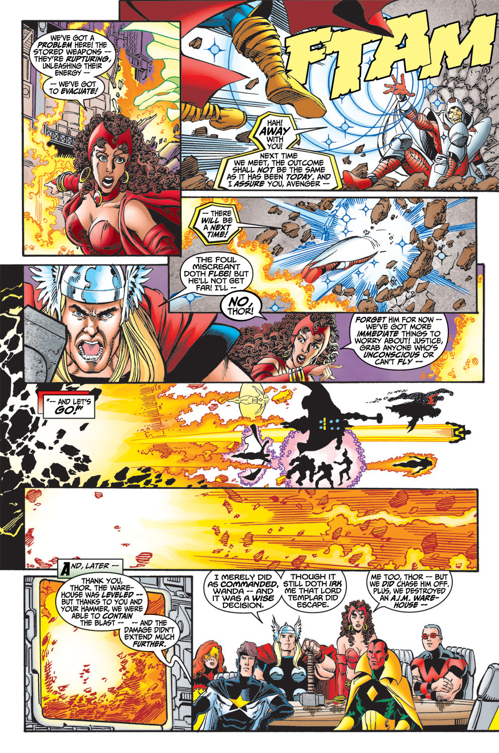 Read online Avengers (1998) comic -  Issue #13 - 22