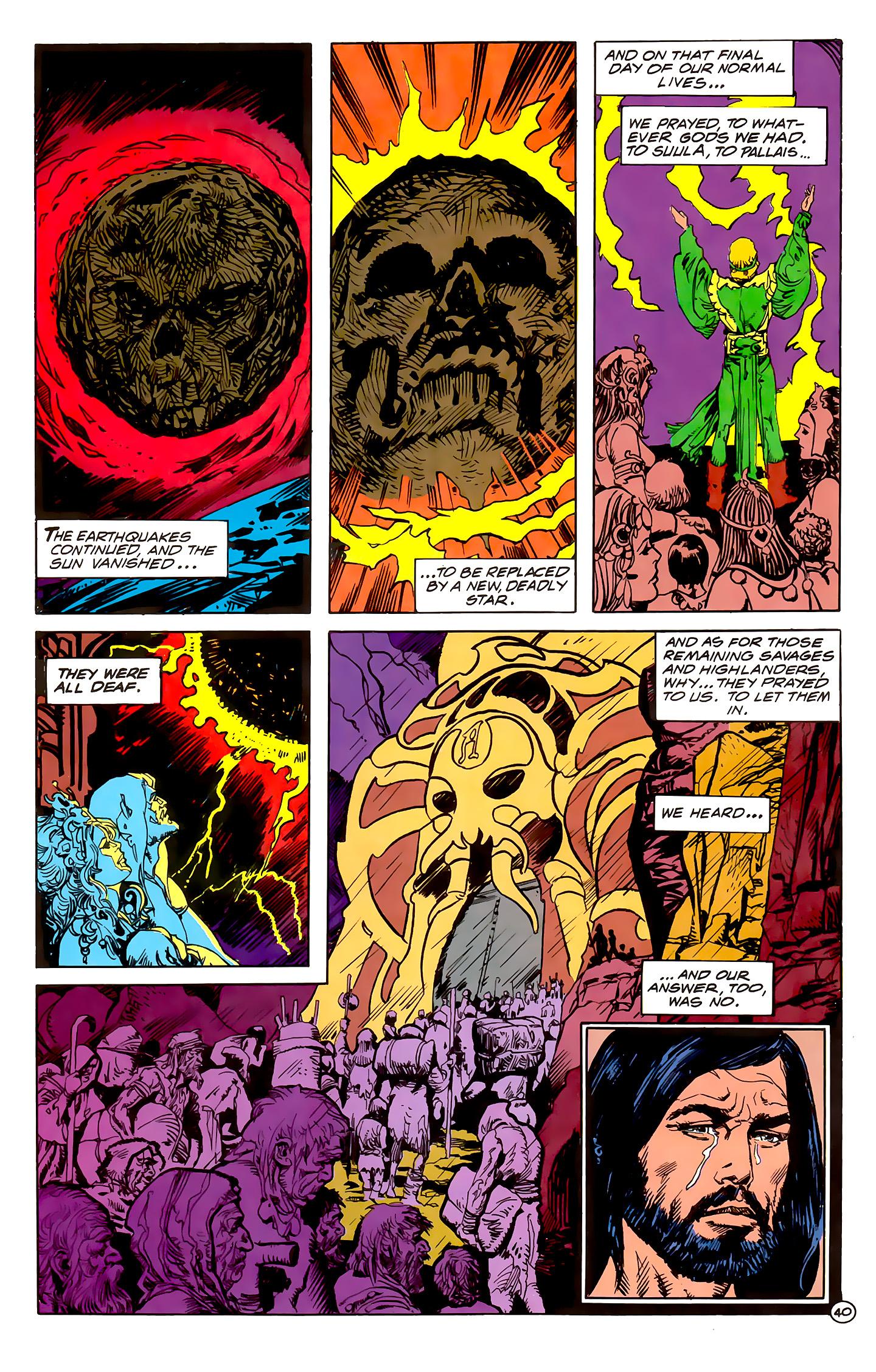 Read online Atlantis Chronicles comic -  Issue #1 - 40