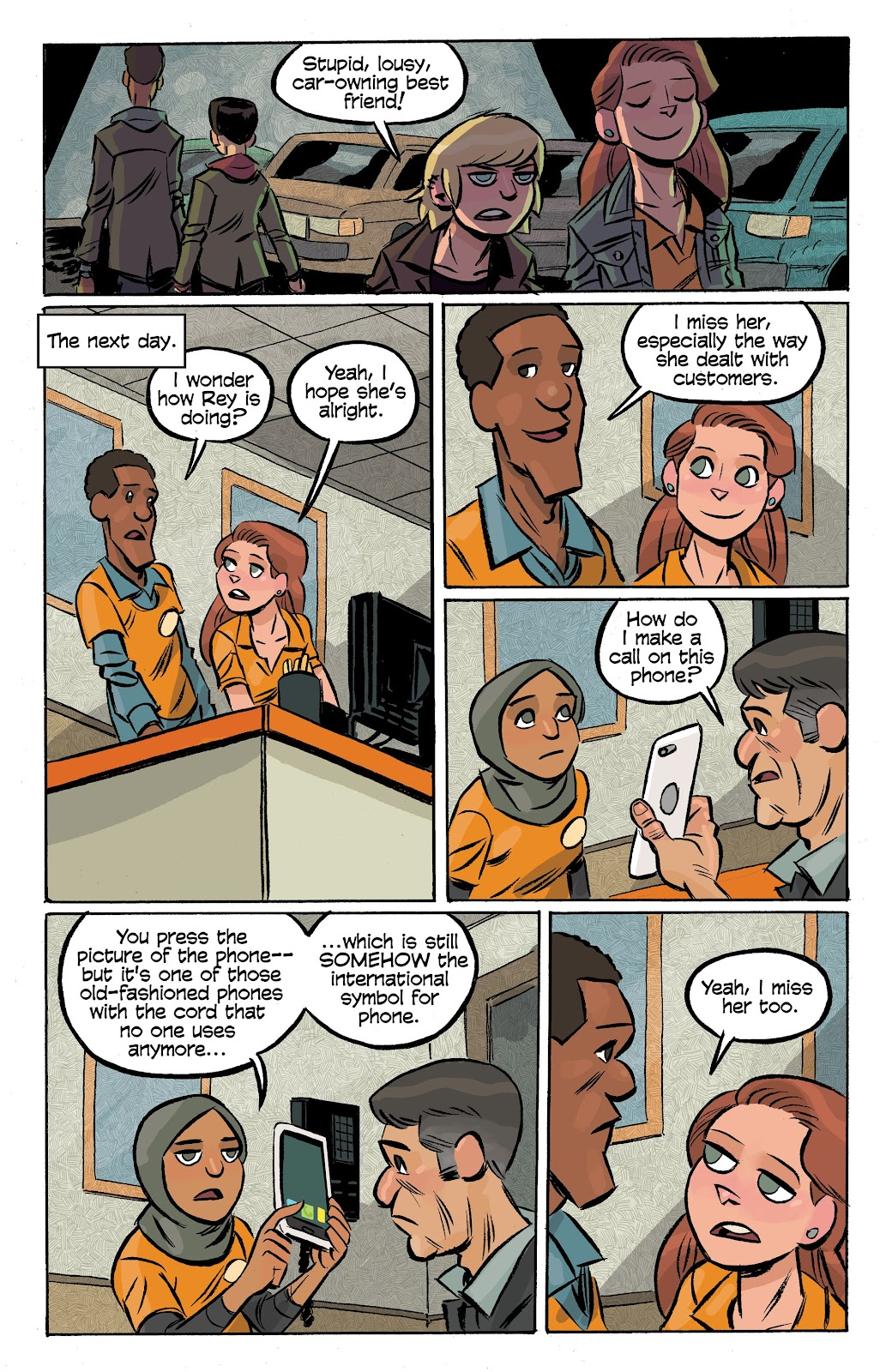 Read online Cellies comic -  Issue #7 - 12