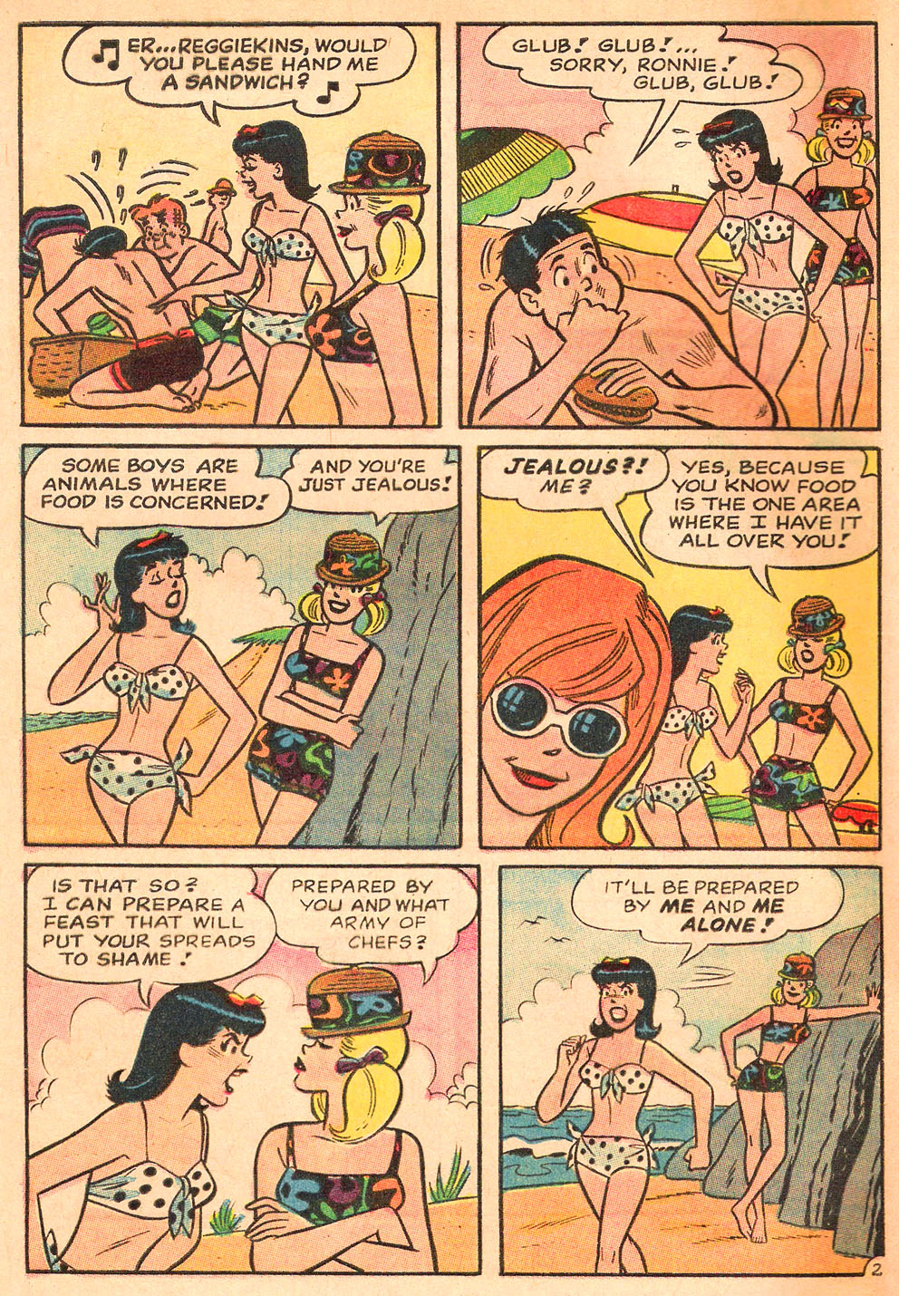 Read online Archie's Girls Betty and Veronica comic -  Issue #130 - 4