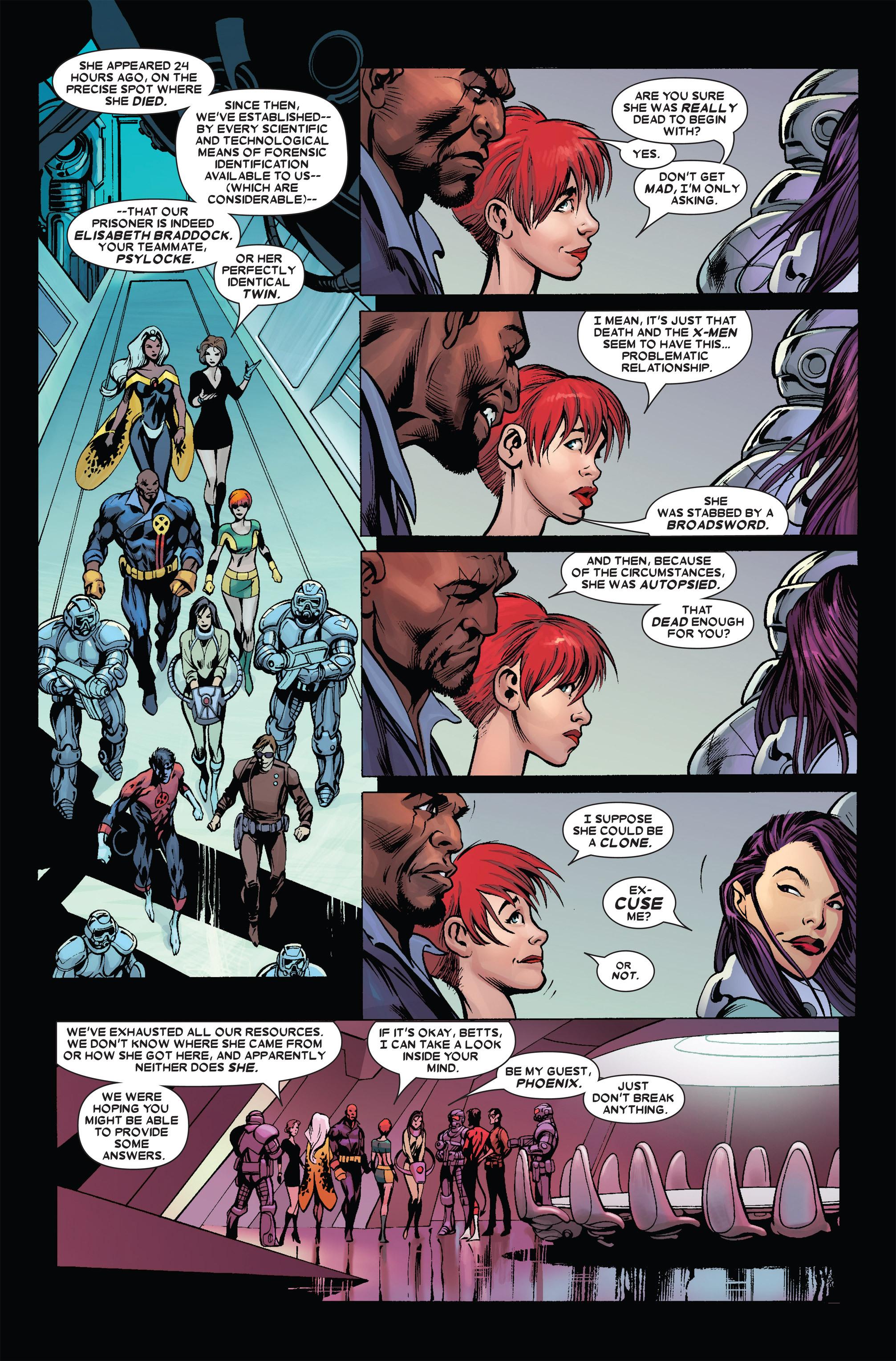 Read online Uncanny X-Men (1963) comic -  Issue #455 - 18