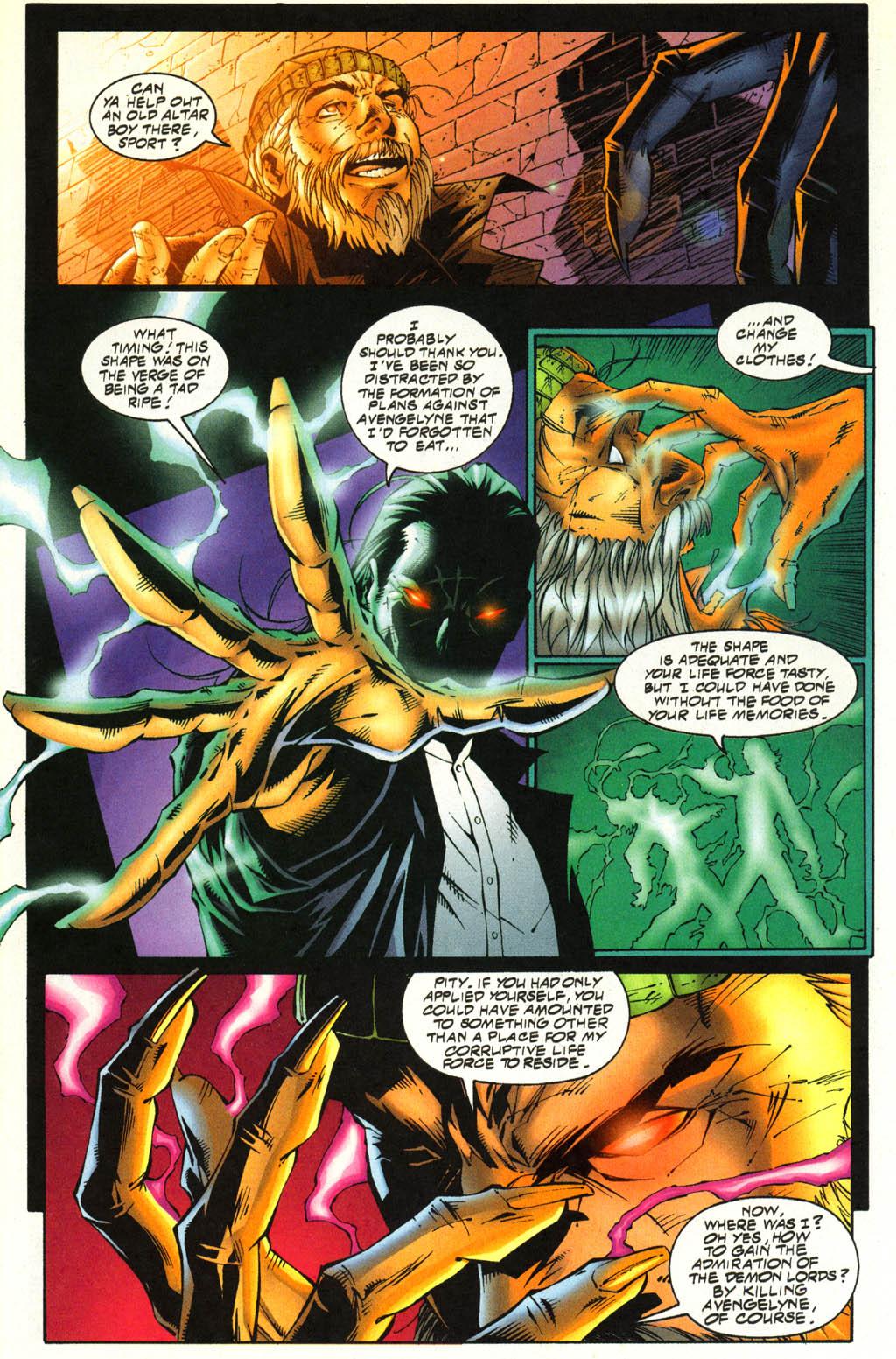 Read online Avengelyne (1996) comic -  Issue #4 - 7