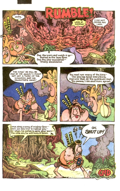 Read online Sergio Aragonés Groo the Wanderer comic -  Issue #2 - 22
