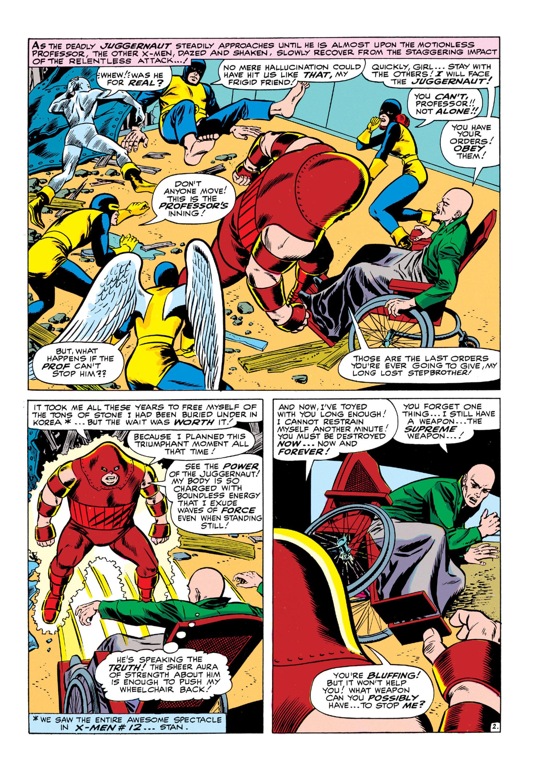 Read online Uncanny X-Men (1963) comic -  Issue #13 - 3