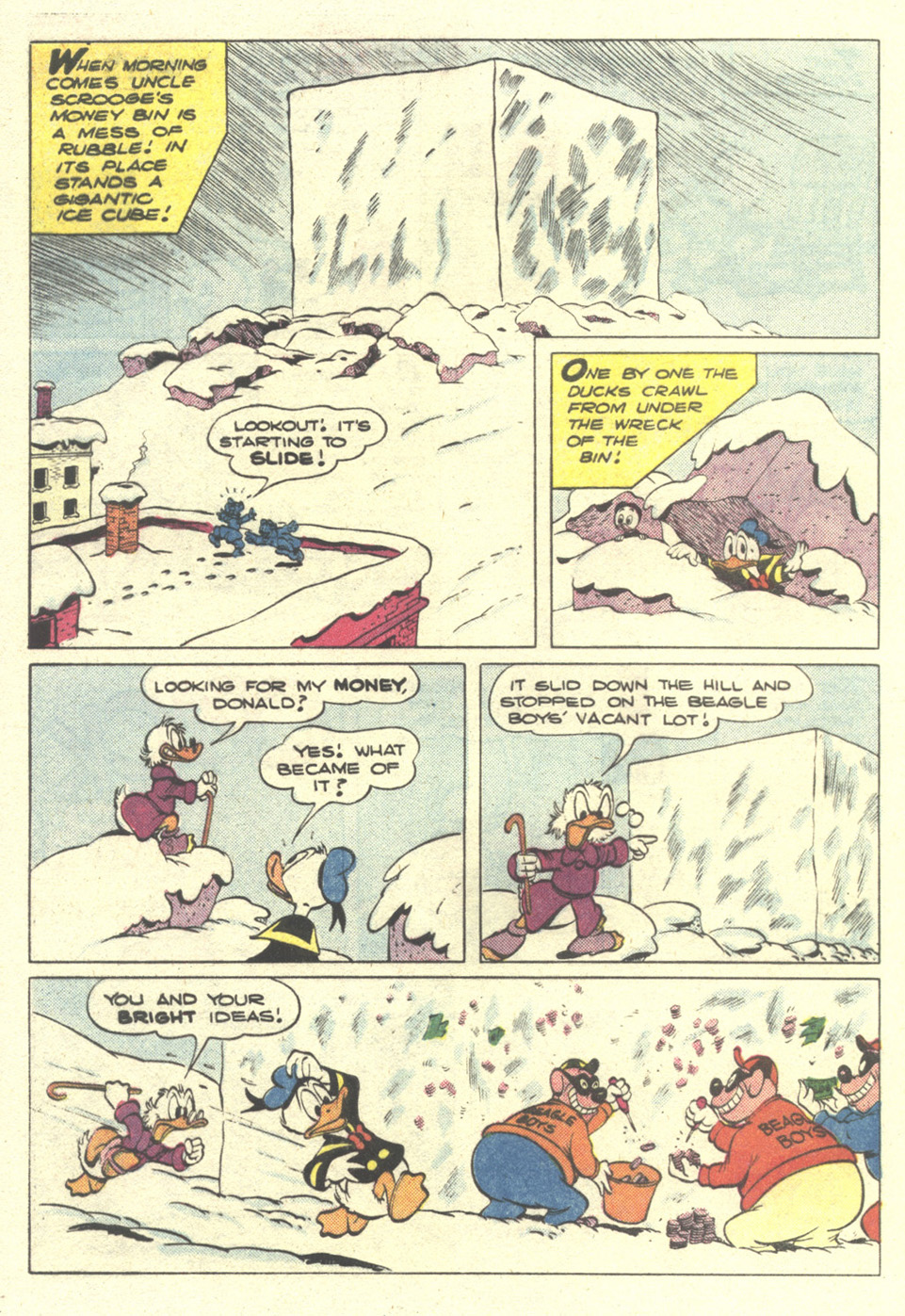 Read online Uncle Scrooge (1953) comic -  Issue #212 - 32