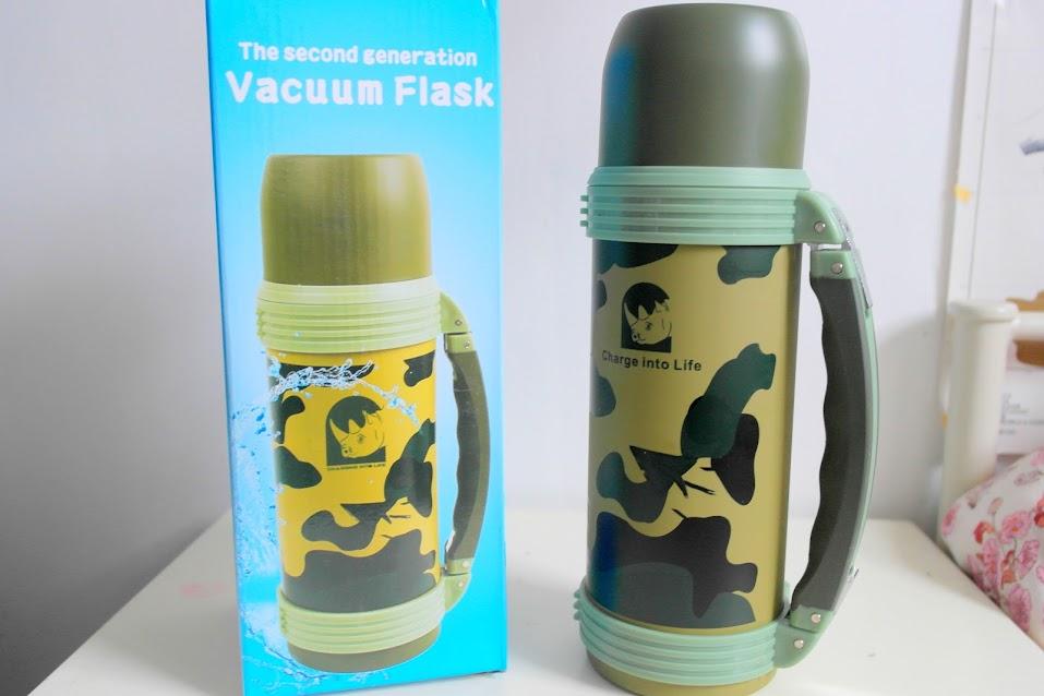 Camouflask vacuum flask