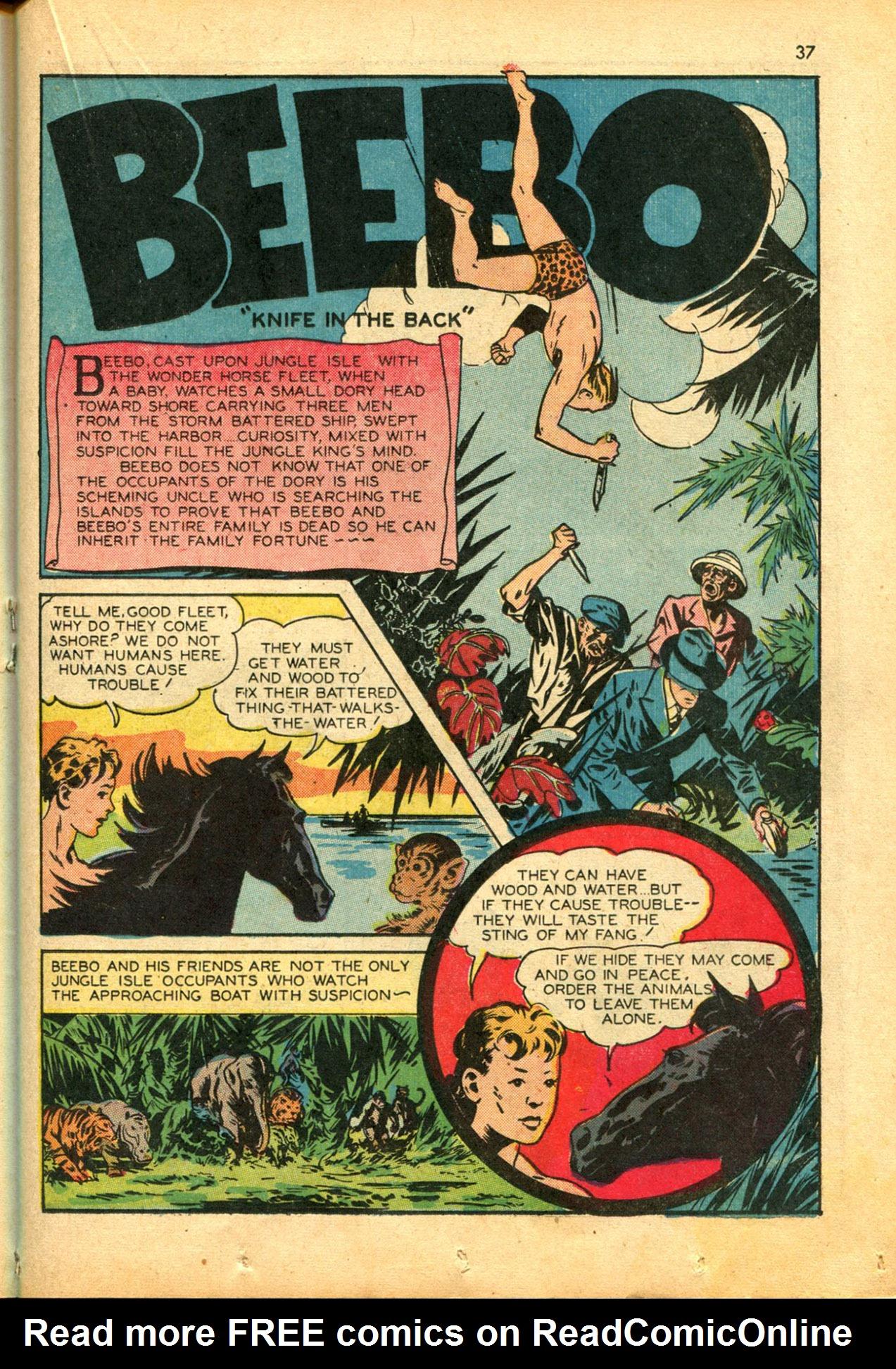 Read online Shadow Comics comic -  Issue #30 - 37