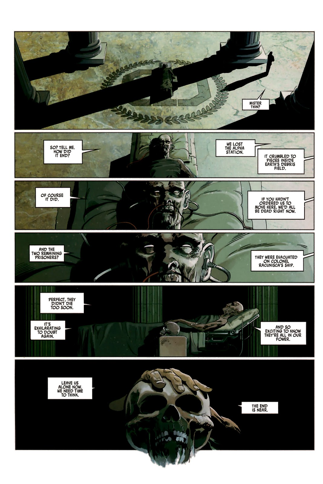 Read online Universal War One: Revelations comic -  Issue #2 - 50