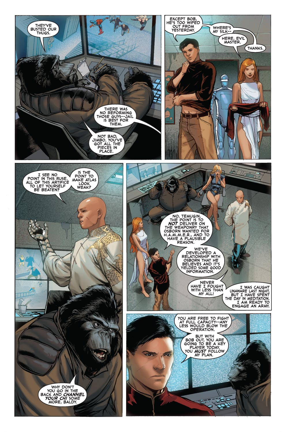 Read online Agents Of Atlas (2009) comic -  Issue #5 - 6