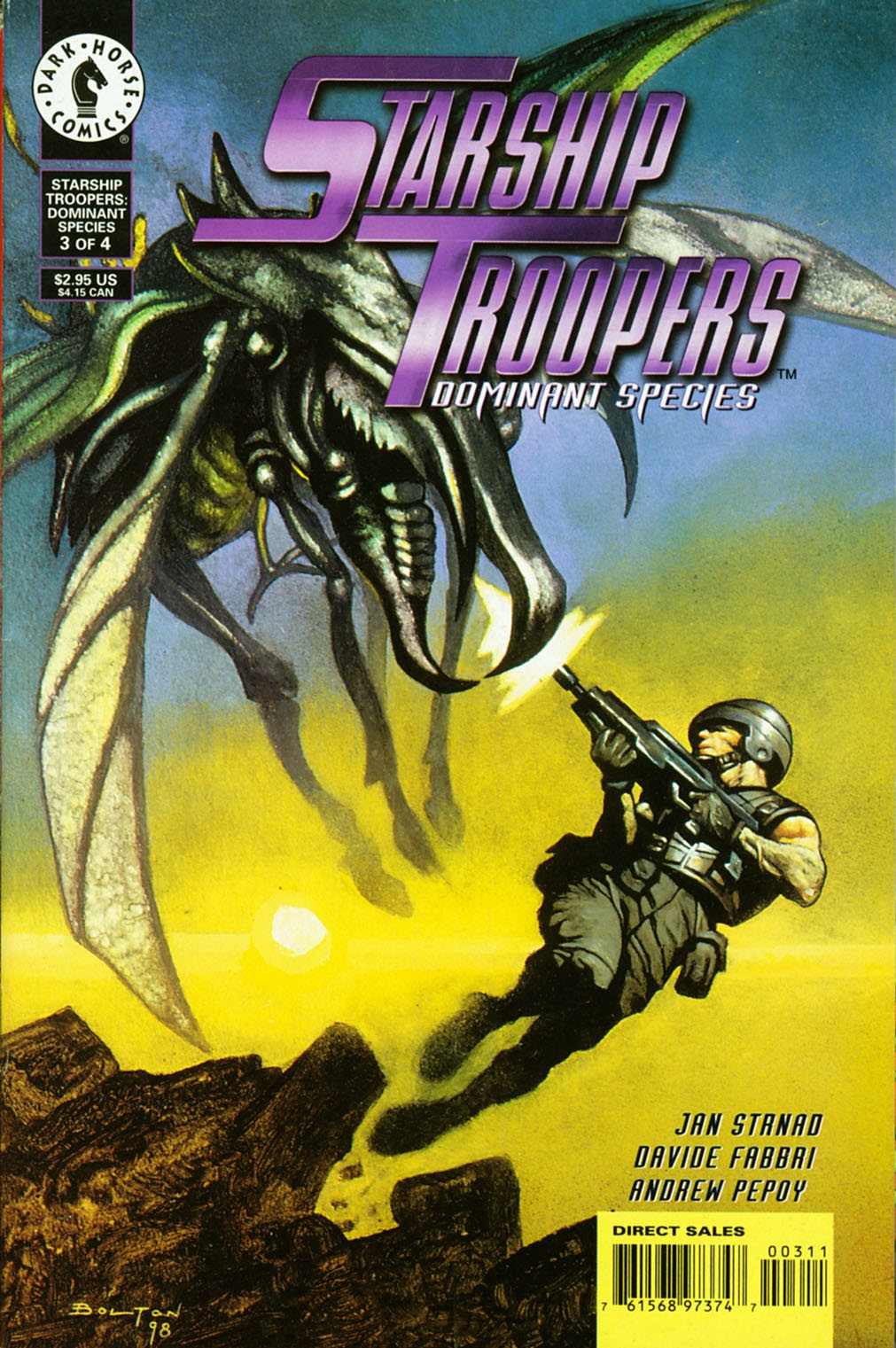 Starship Troopers: Dominant Species issue 3 - Page 1
