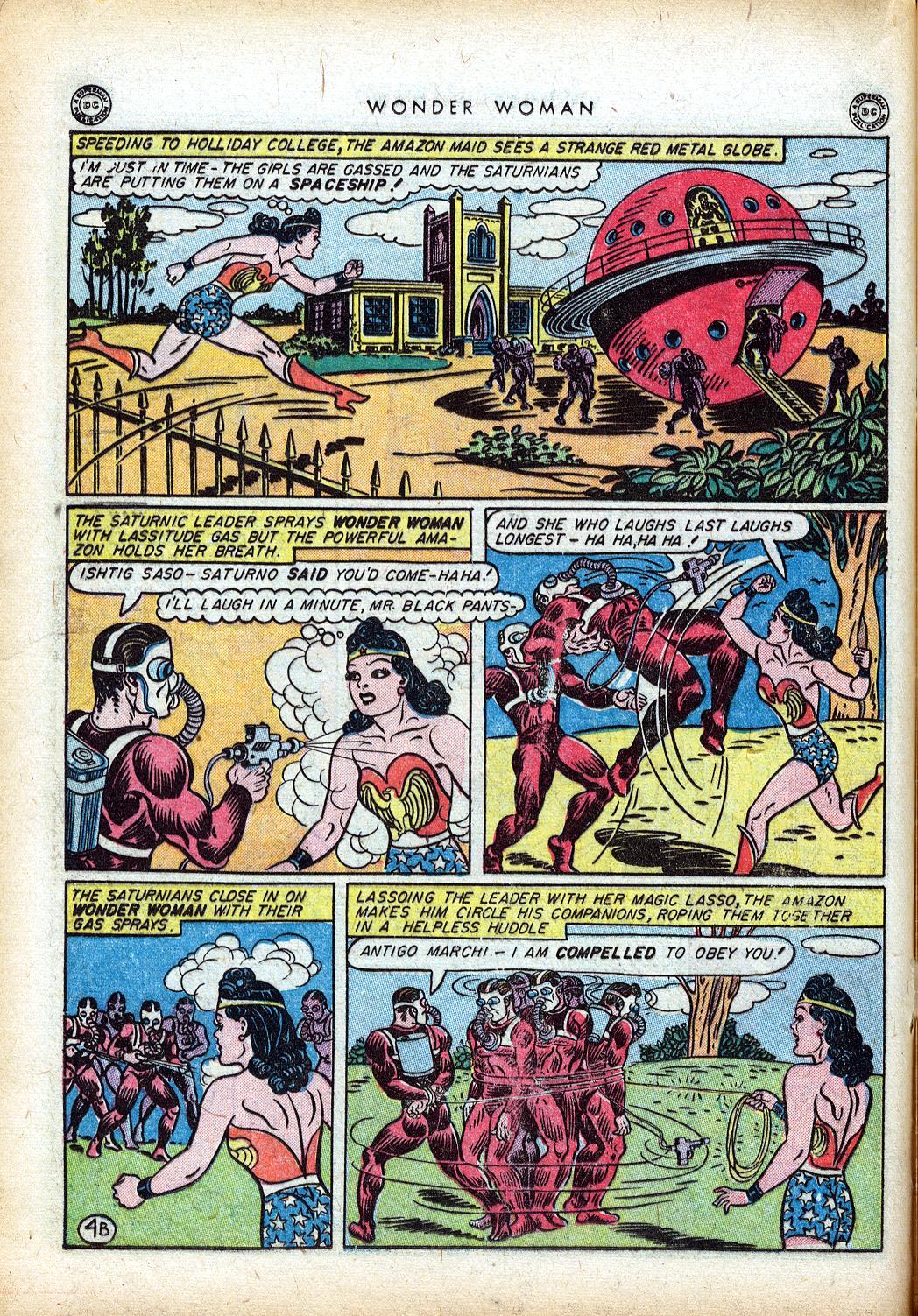Read online Wonder Woman (1942) comic -  Issue #10 - 25