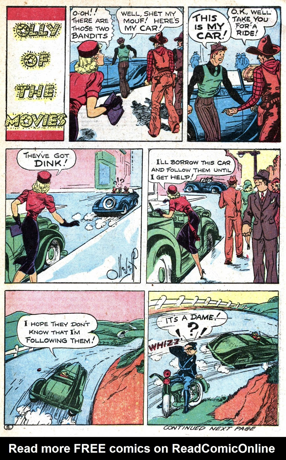 Read online Famous Funnies comic -  Issue #128 - 47