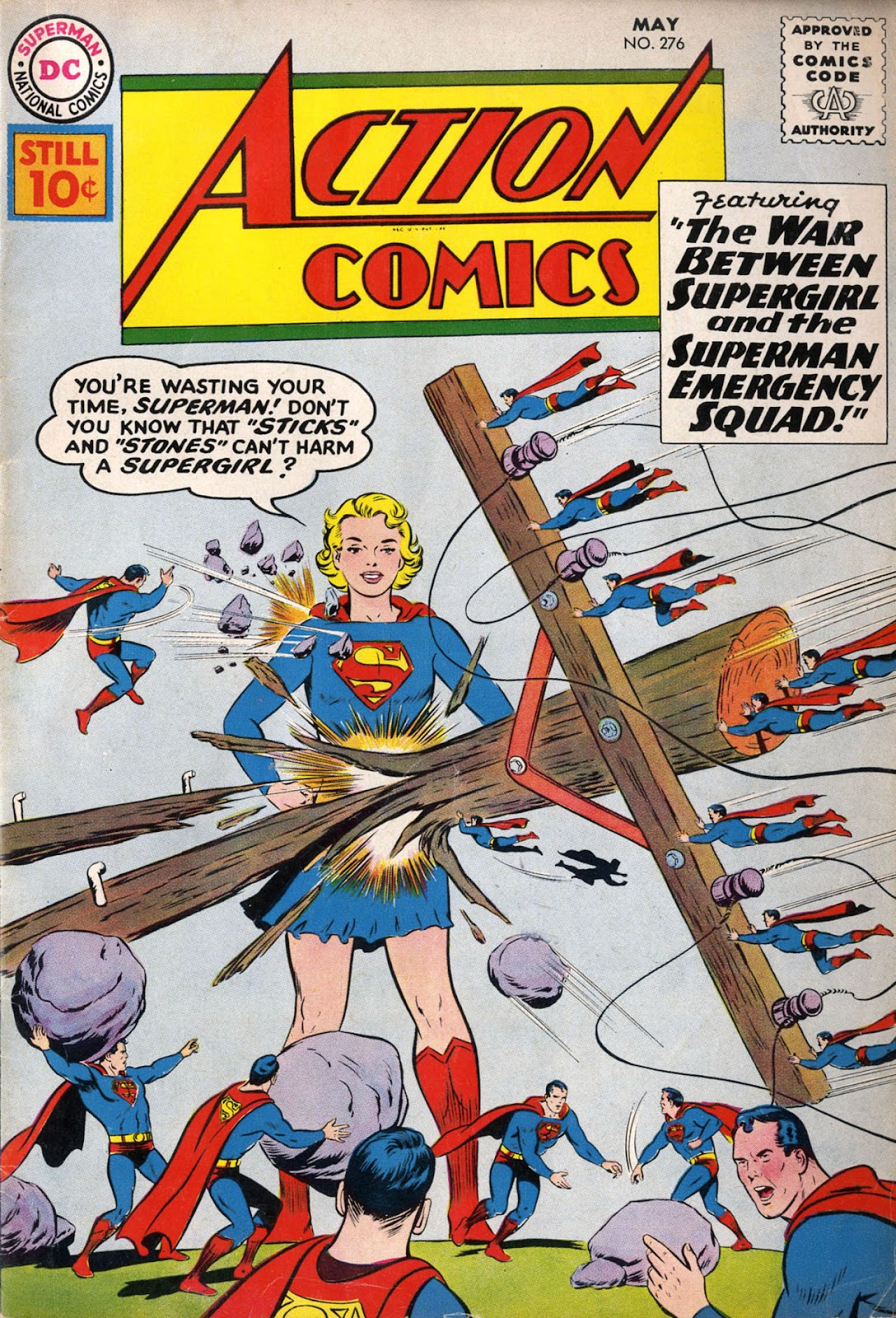 Action Comics (1938) 276 Page 1