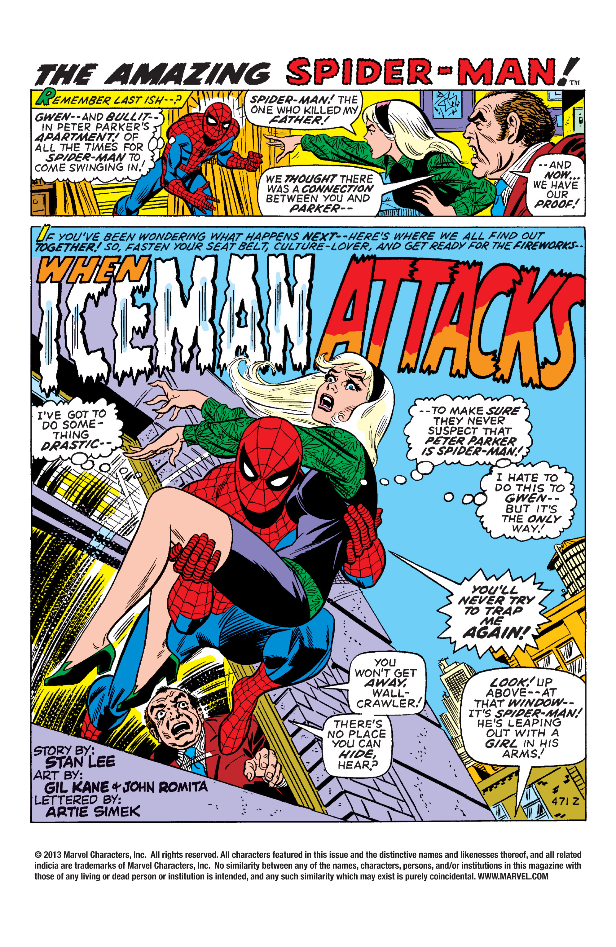 The Amazing Spider-Man (1963) 92 Page 1