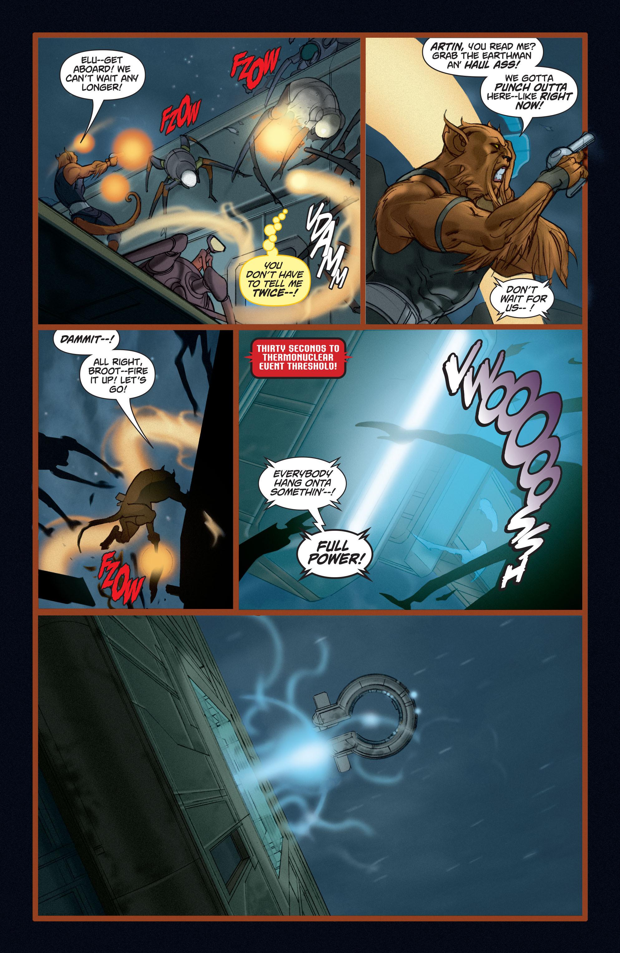 Read online Adam Strange (2004) comic -  Issue #5 - 13