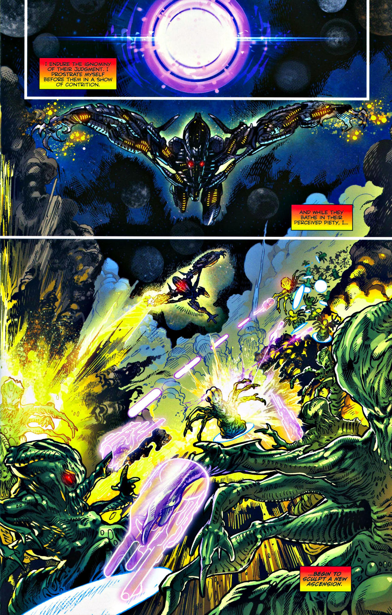 Read online Transformers: Tales of The Fallen comic -  Issue #4 - 10