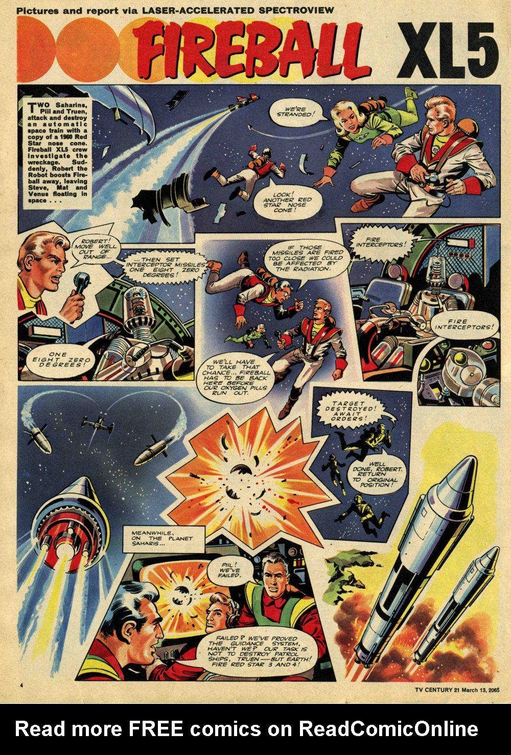 Read online TV Century 21 (TV 21) comic -  Issue #8 - 4