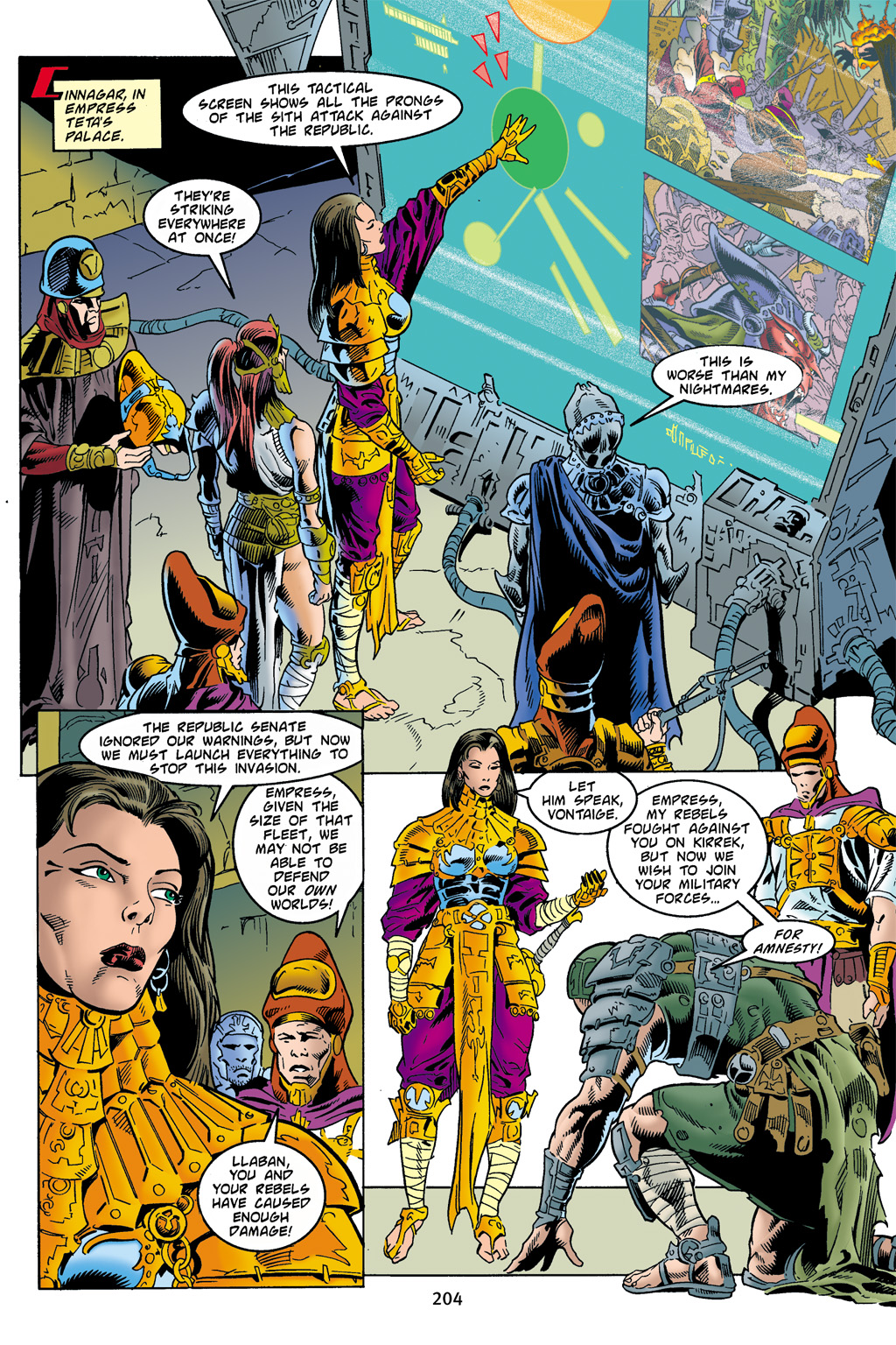 Read online Star Wars Omnibus comic -  Issue # Vol. 4 - 197