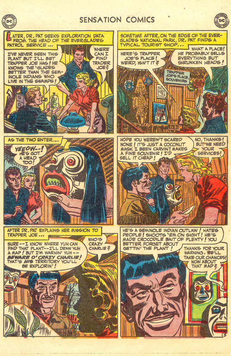 Read online Sensation (Mystery) Comics comic -  Issue #105 - 19