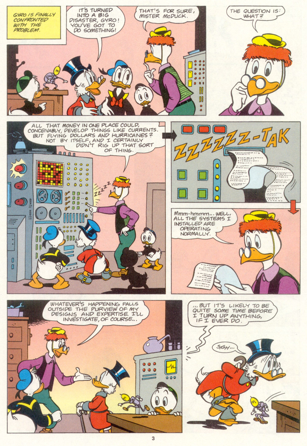 Read online Uncle Scrooge (1953) comic -  Issue #267 - 4