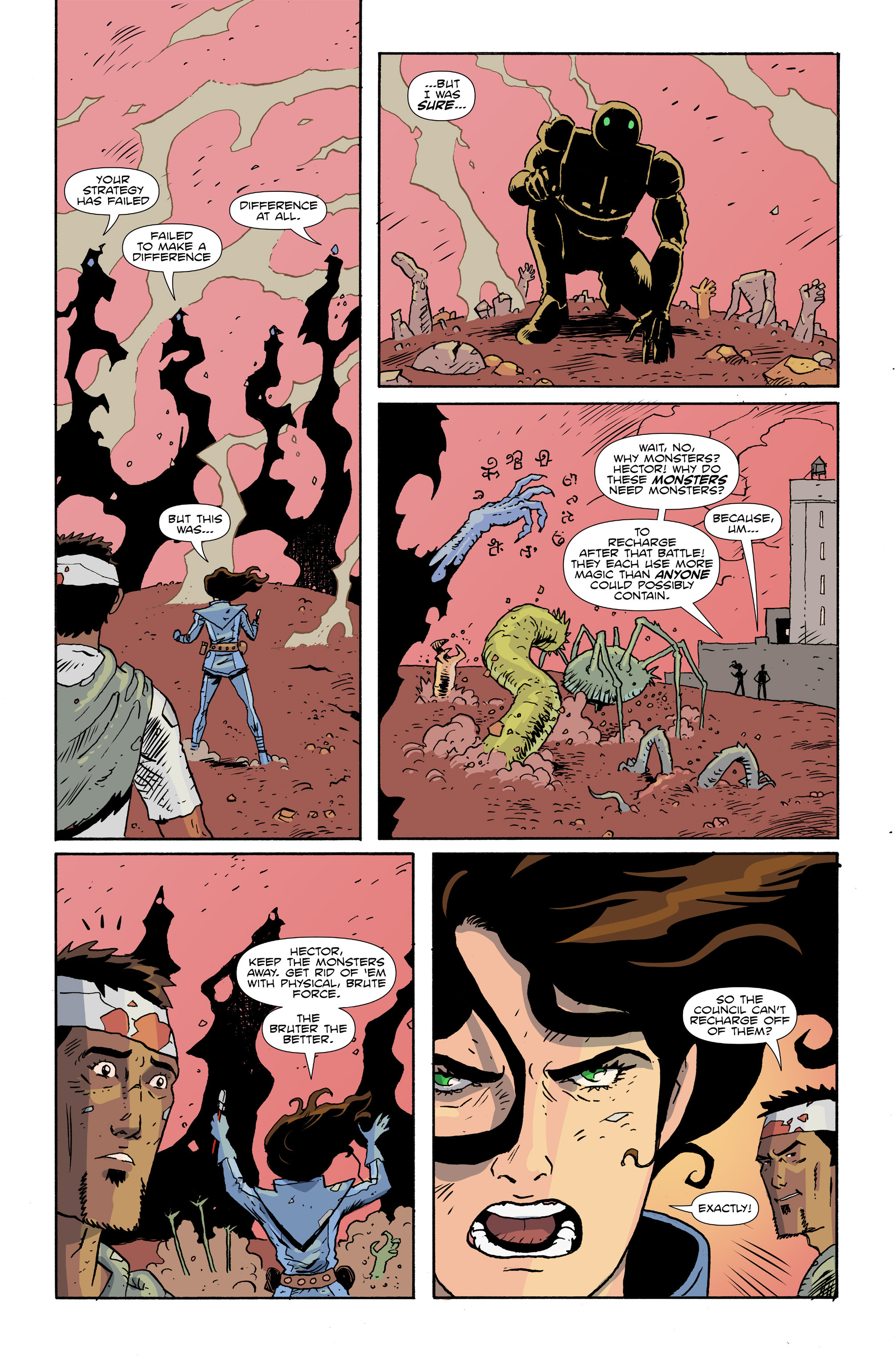 Read online Amelia Cole Versus The End of Everything comic -  Issue #28 - 8
