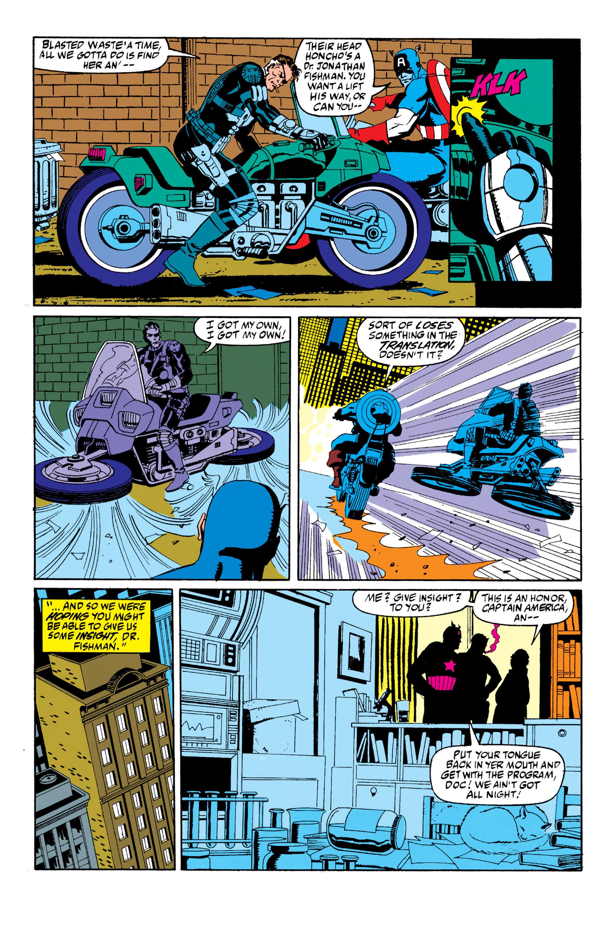 Read online Captain America (1968) comic -  Issue # _Annual 10 - 14