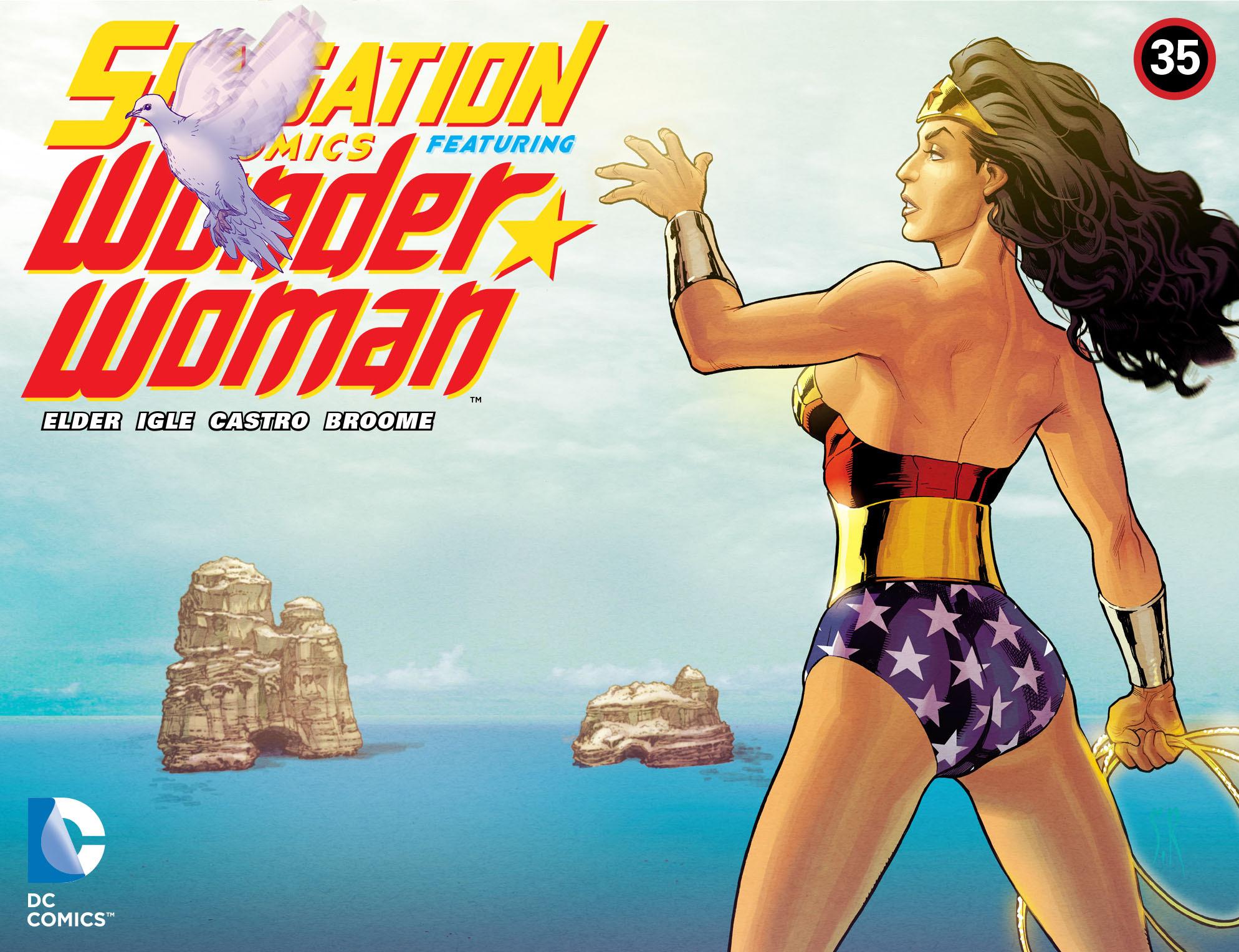 Read online Sensation Comics Featuring Wonder Woman comic -  Issue #35 - 1