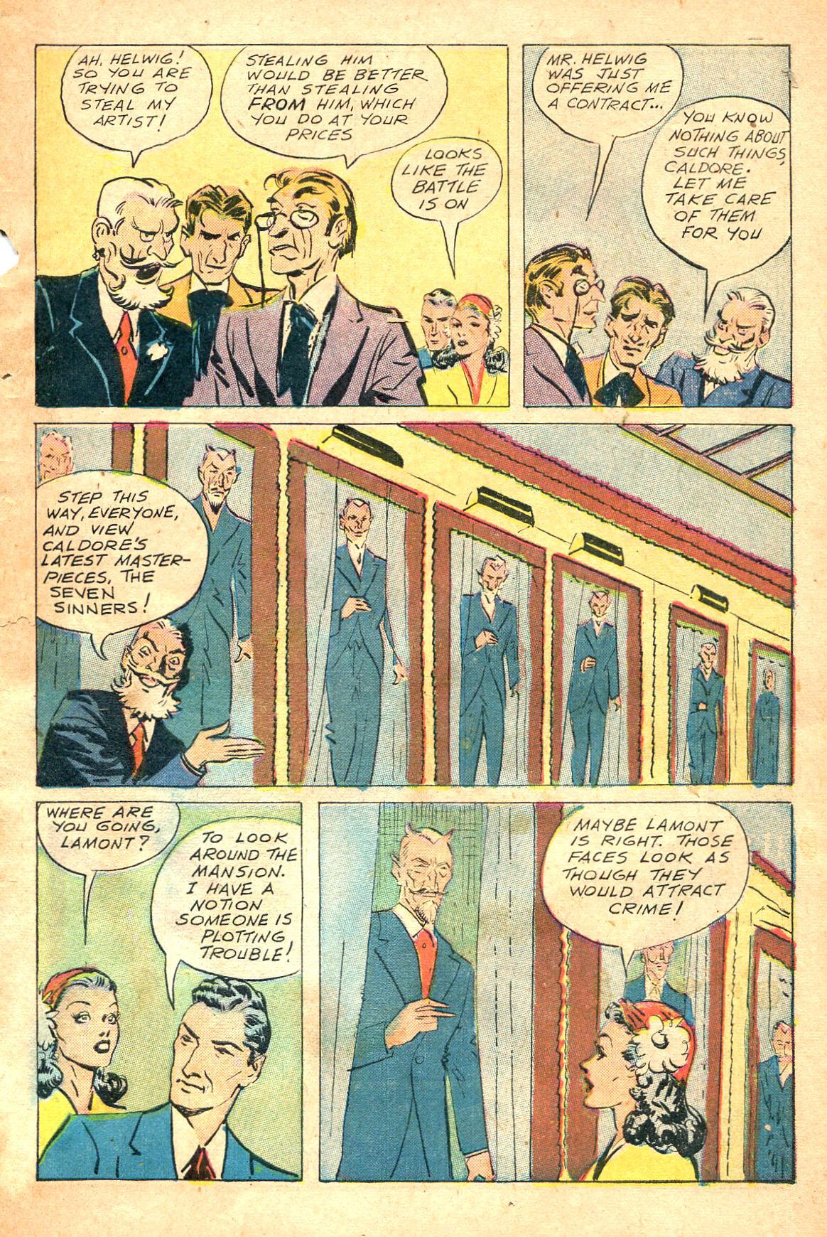 Read online Shadow Comics comic -  Issue #47 - 6