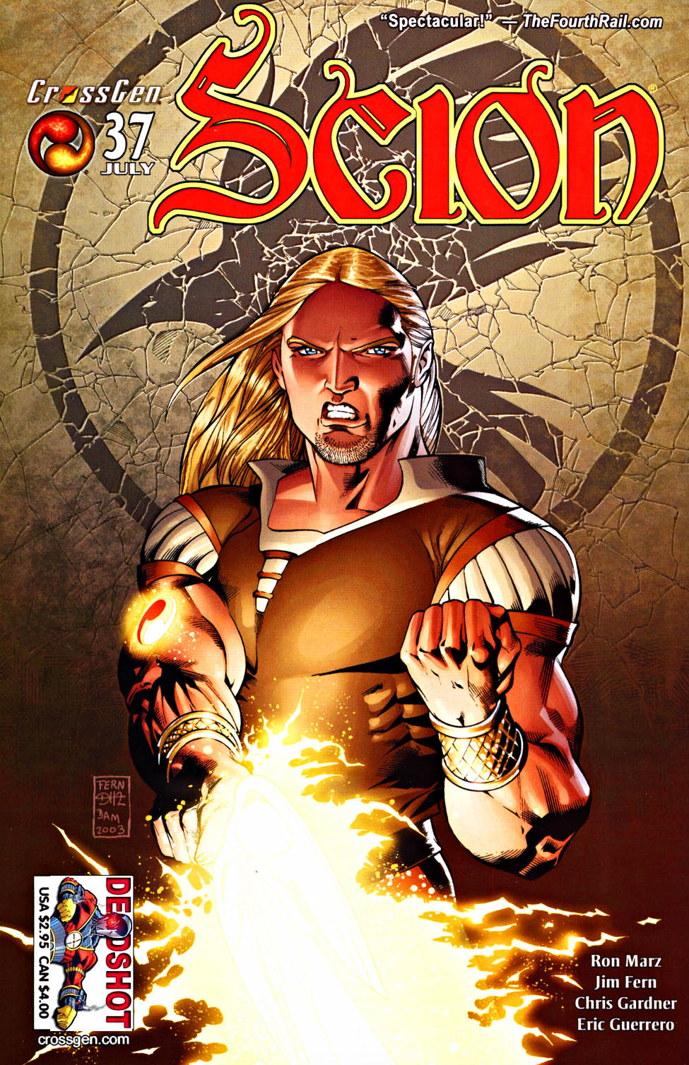 Read online Scion comic -  Issue #37 - 1