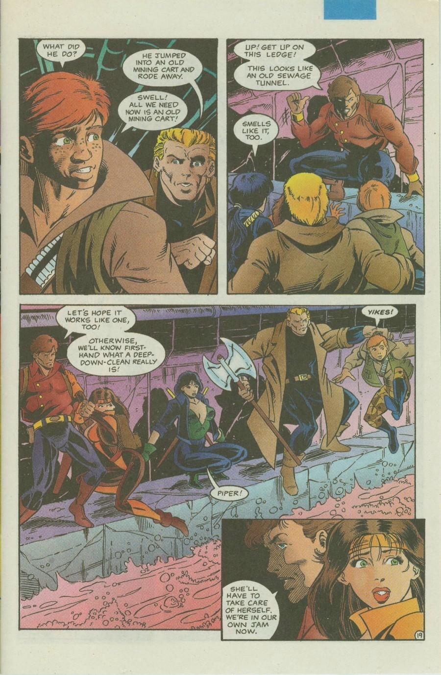 Read online Ex-Mutants comic -  Issue #4 - 24