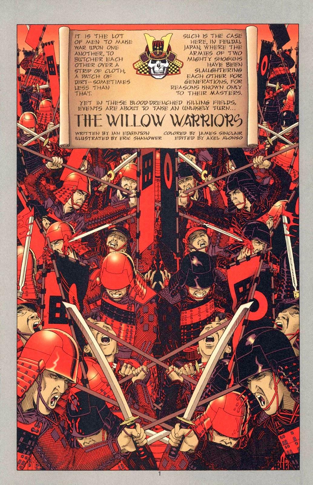 Read online Weird War Tales (1997) comic -  Issue #1 - 16