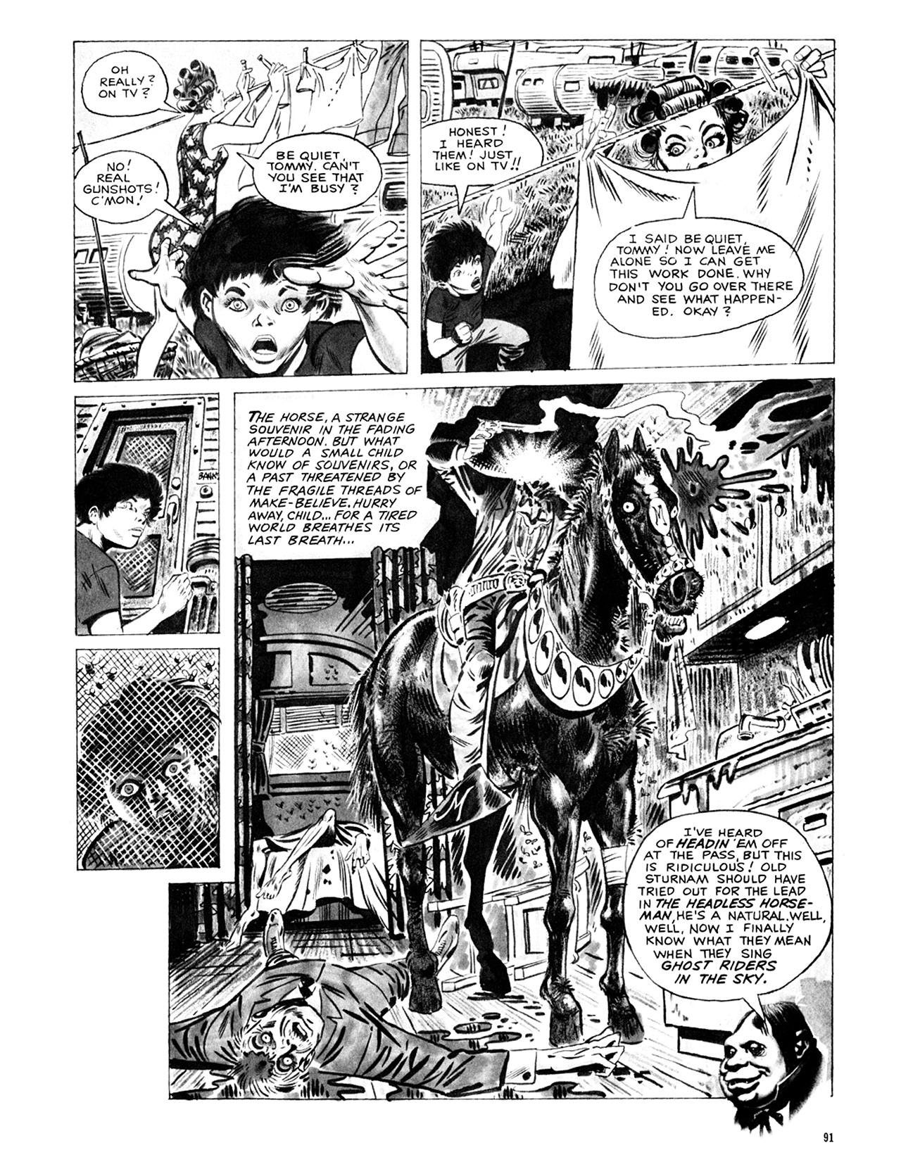 Read online Eerie Archives comic -  Issue # TPB 9 - 92