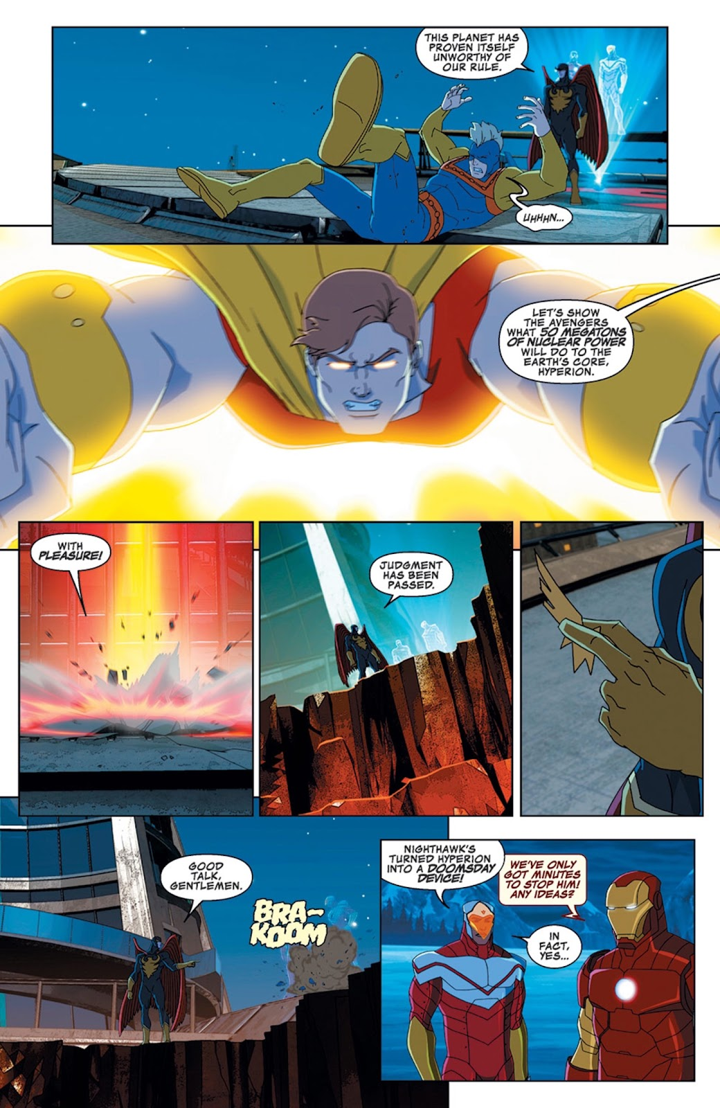 Read online Marvel Universe Avengers Assemble Season 2 comic -  Issue #14 - 19