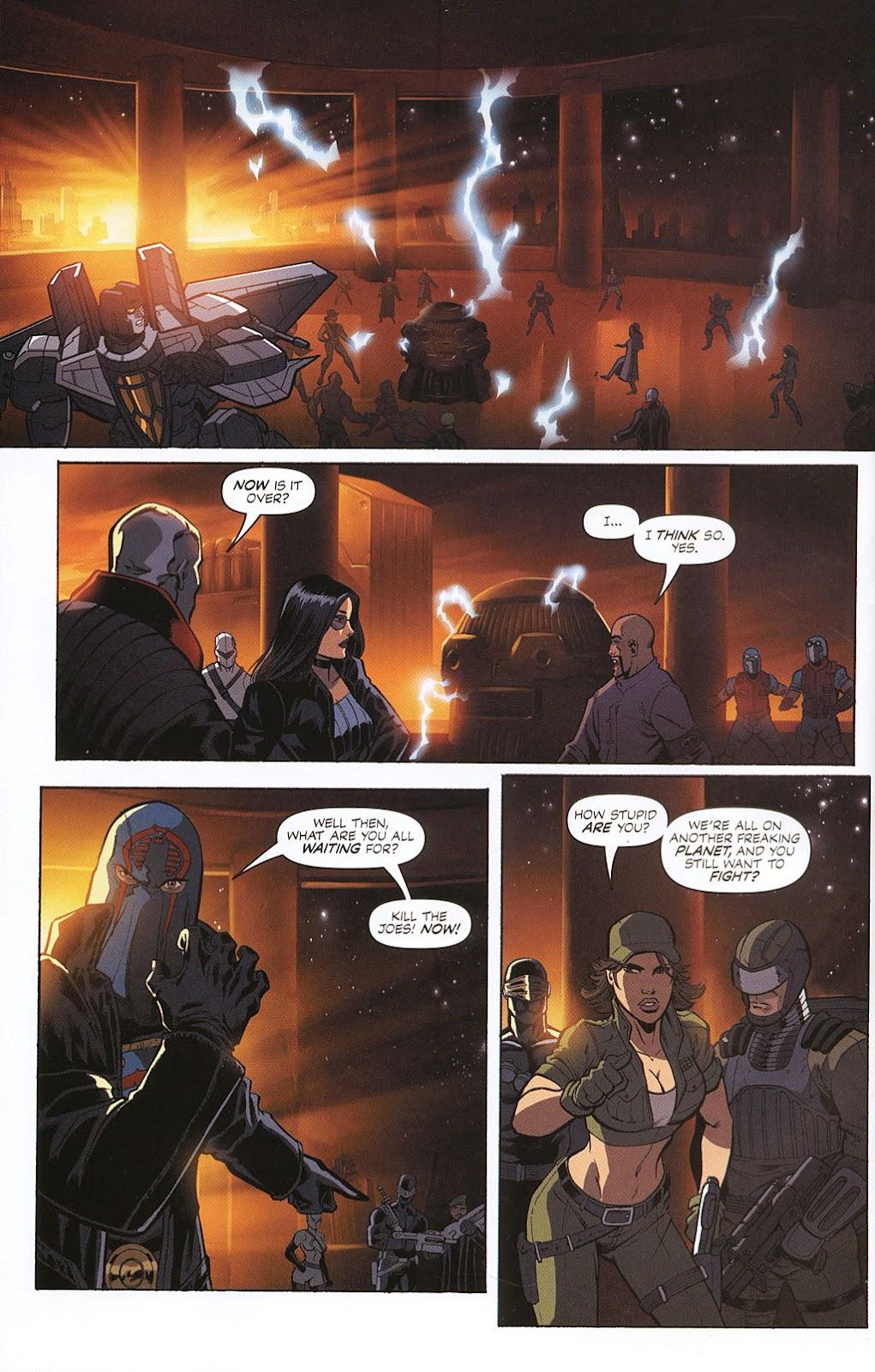 G.I. Joe vs. The Transformers II Issue #0 #1 - English 16